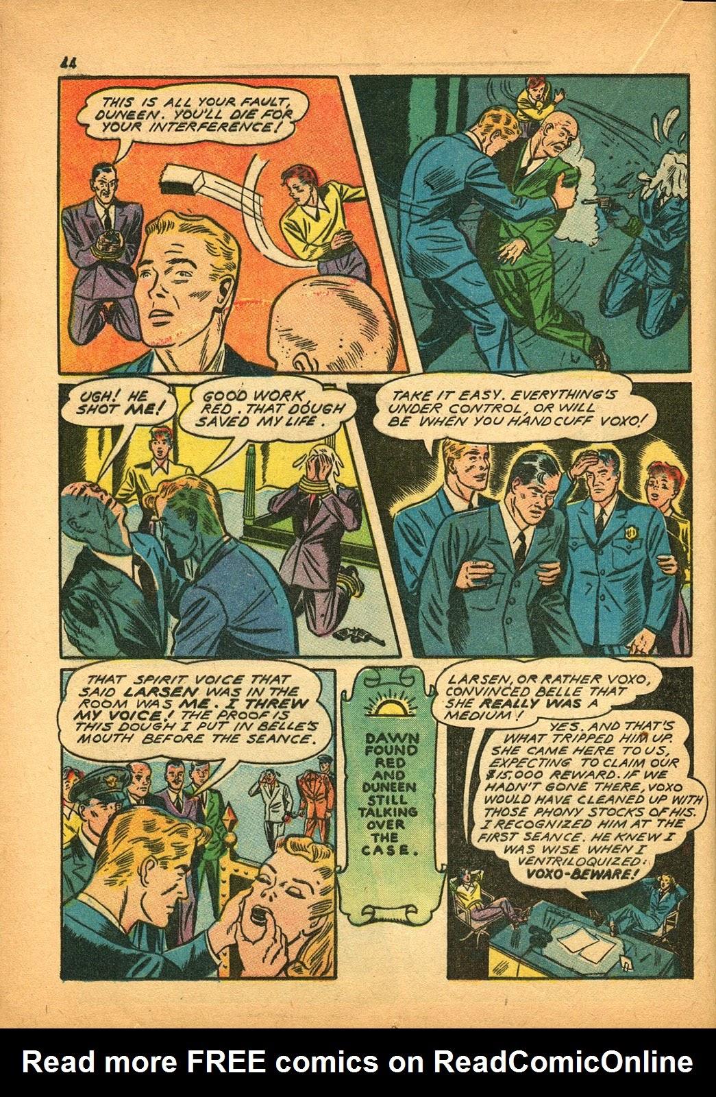 Read online Super-Magician Comics comic -  Issue #9 - 43