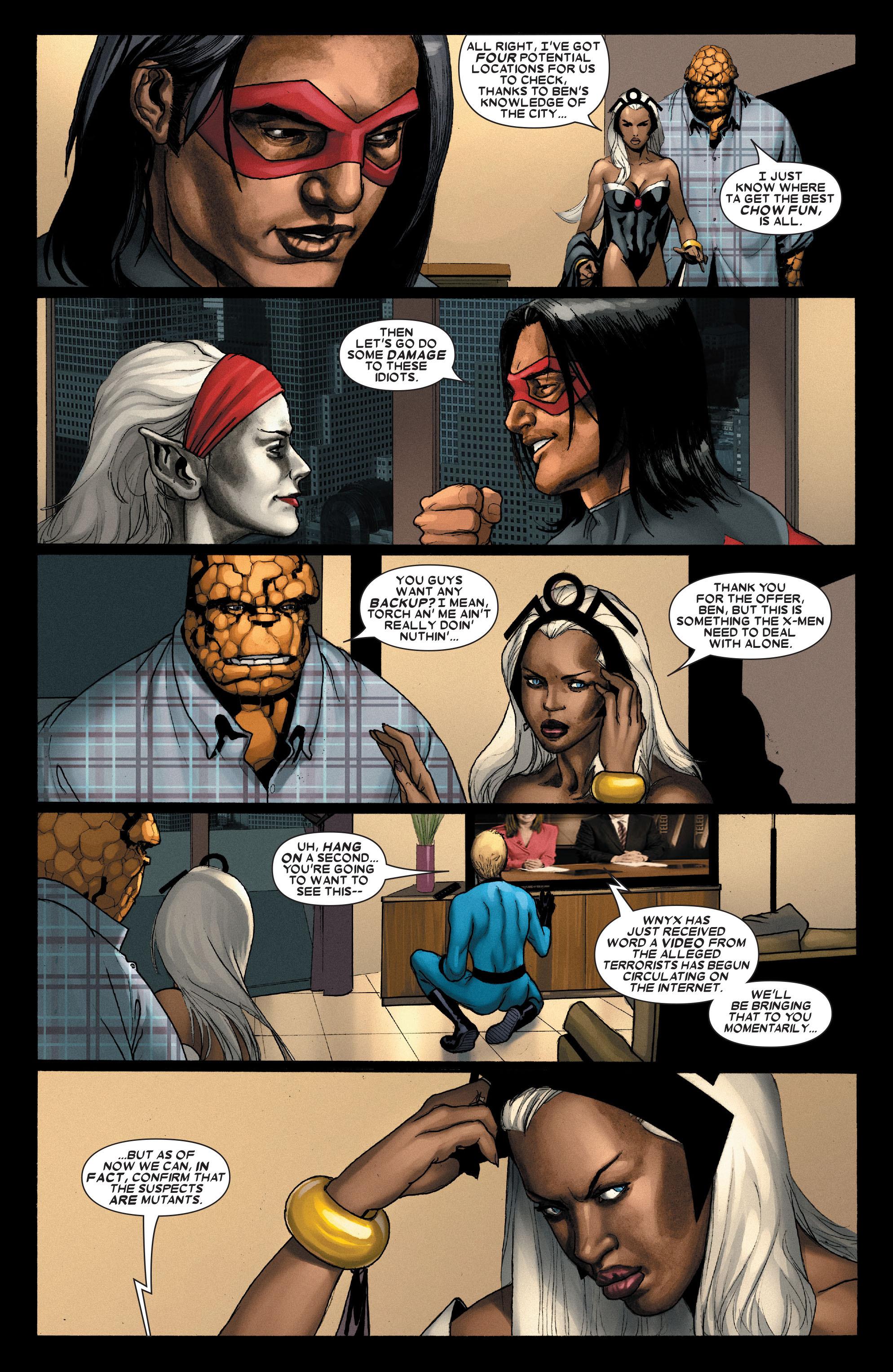 Read online Uncanny X-Men (1963) comic -  Issue #489 - 9