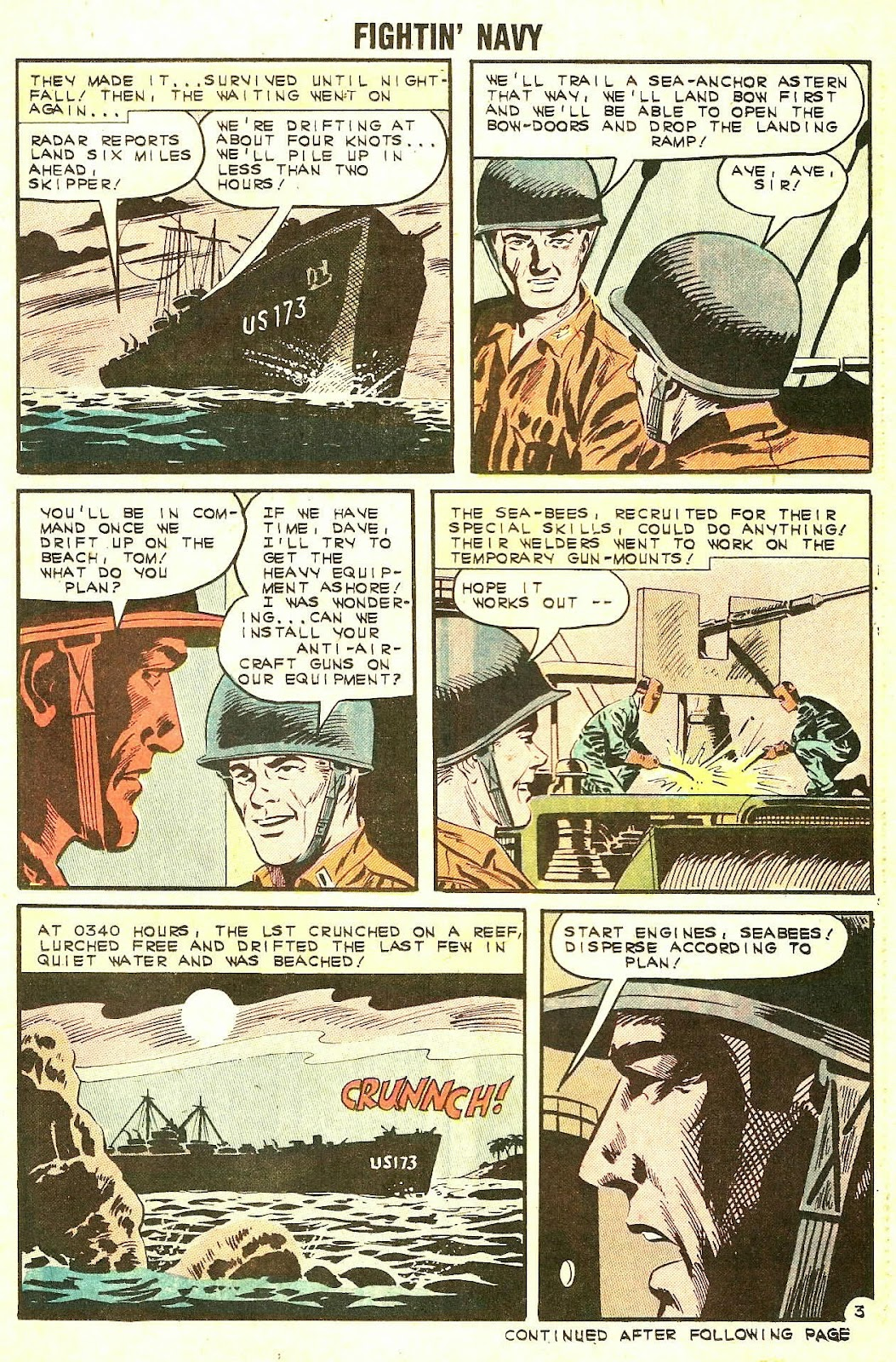 Read online Fightin' Navy comic -  Issue #106 - 21