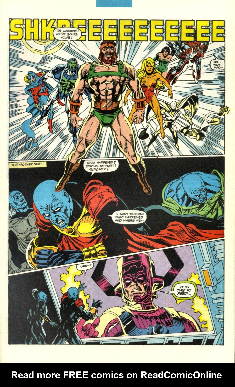 Read online Alpha Flight (1983) comic -  Issue #100 - 37