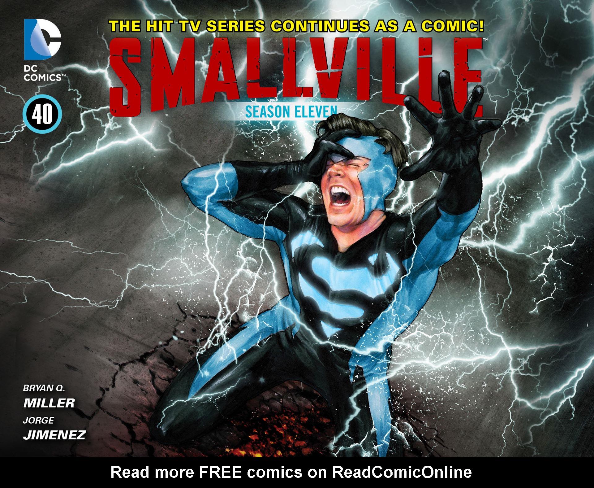 Read online Smallville: Season 11 comic -  Issue #40 - 1
