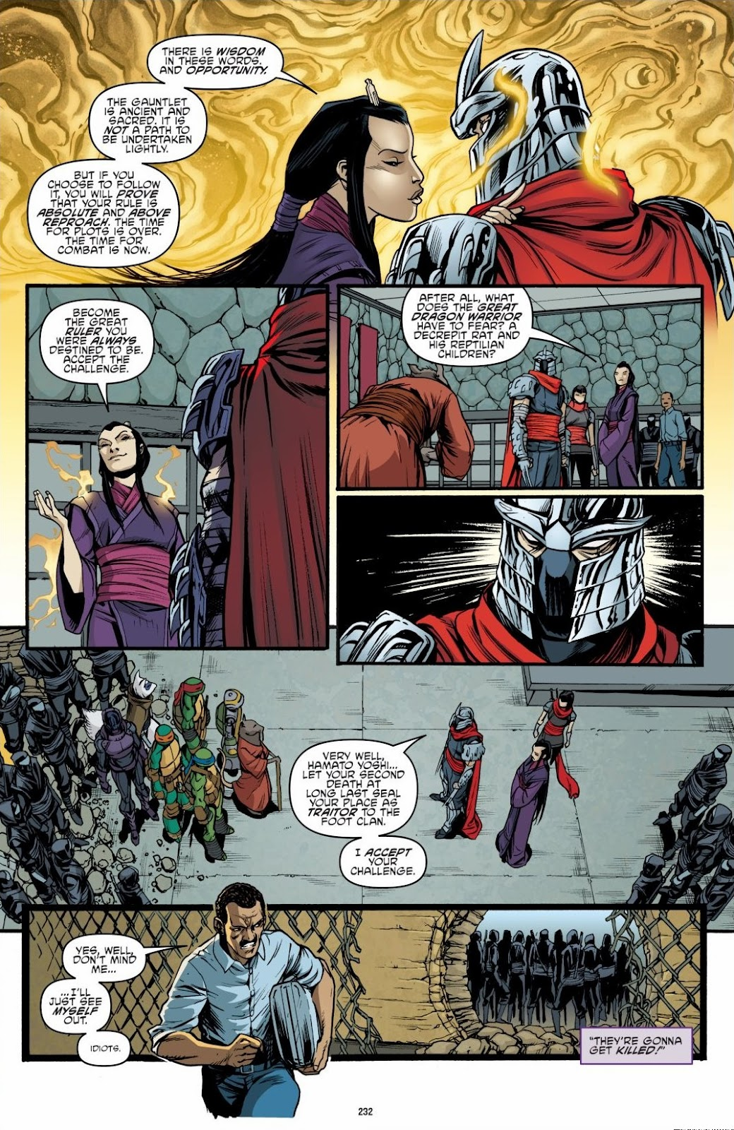 Read online Teenage Mutant Ninja Turtles: The IDW Collection comic -  Issue # TPB 6 (Part 3) - 27