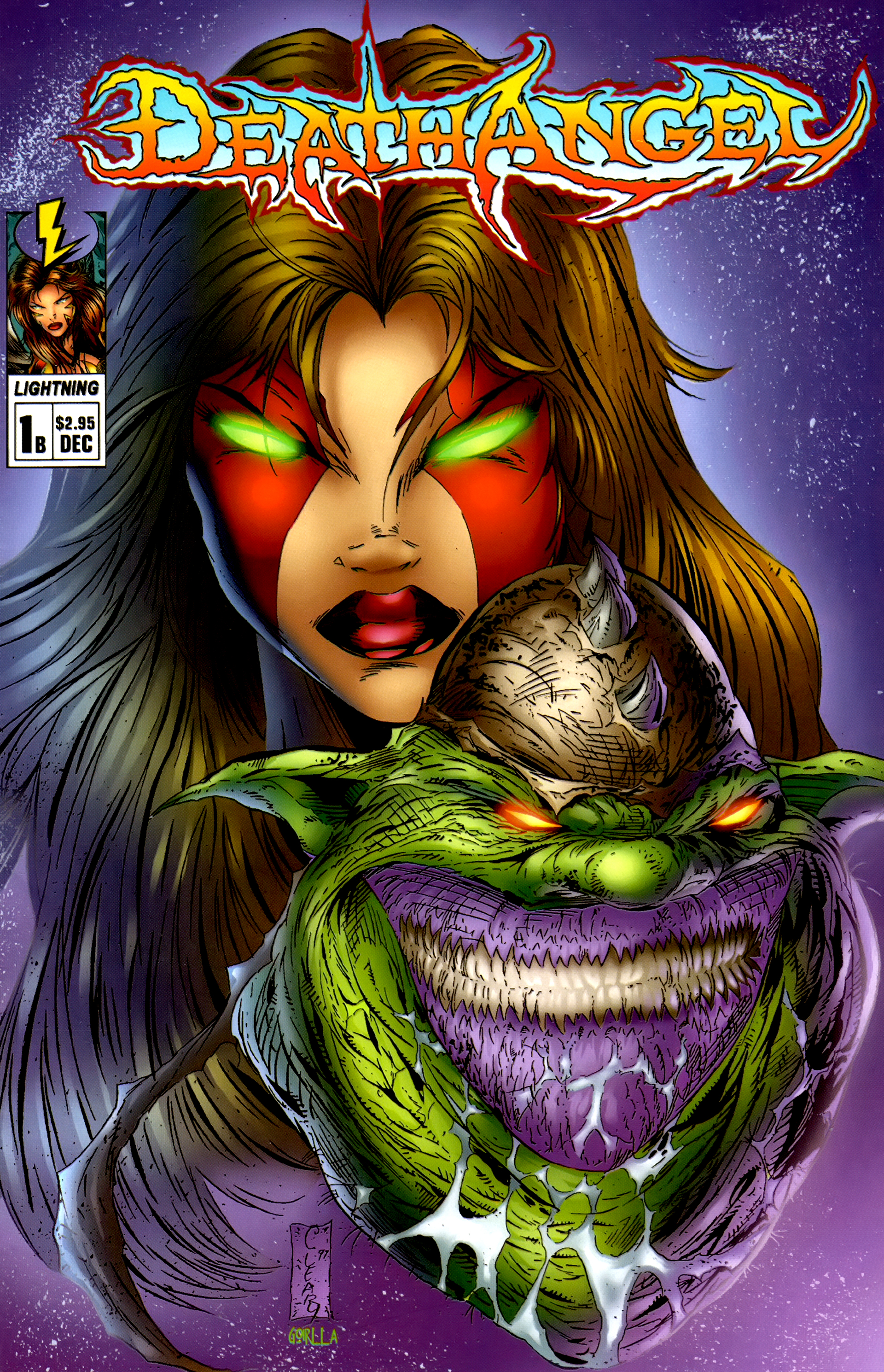 Read online DeathAngel comic -  Issue # Full - 1