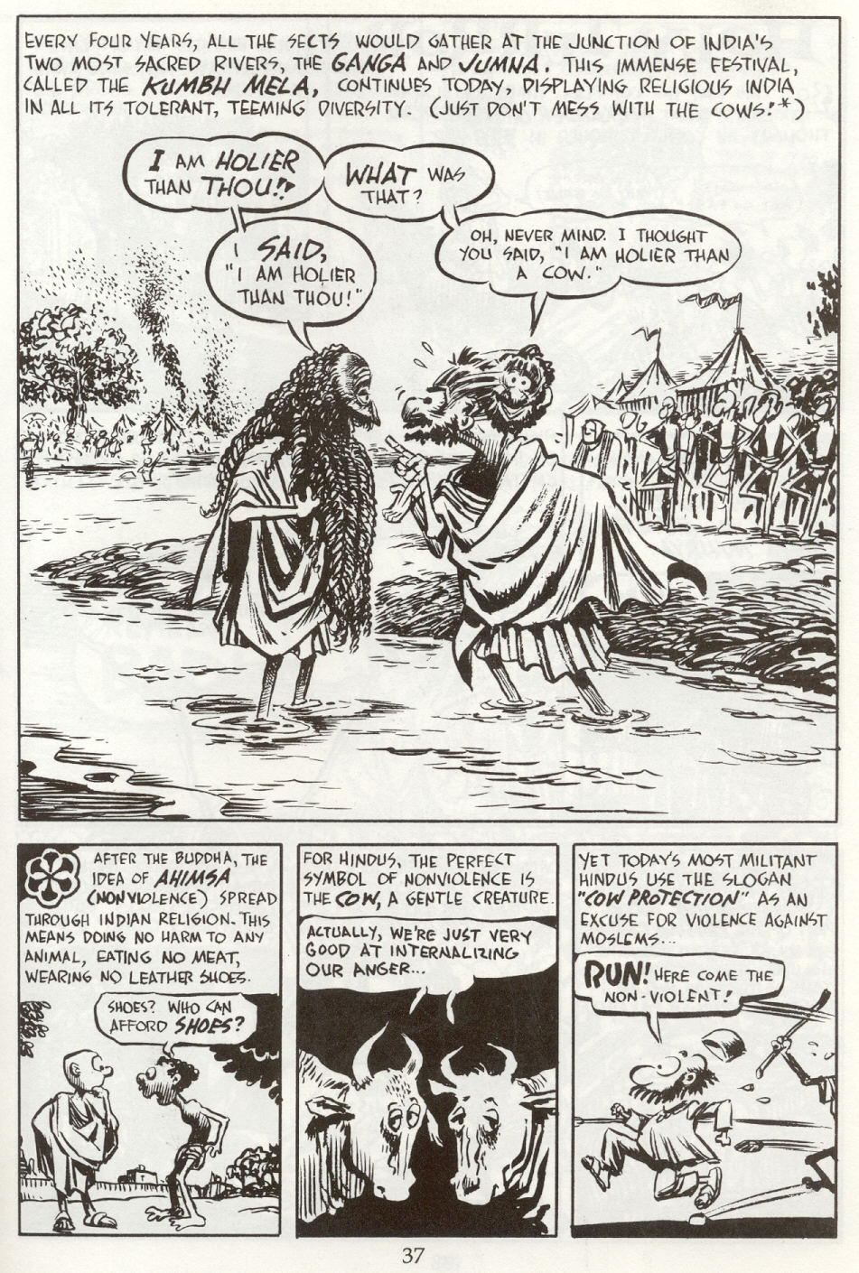 Read online The Cartoon History of the Universe comic -  Issue #8 - 40