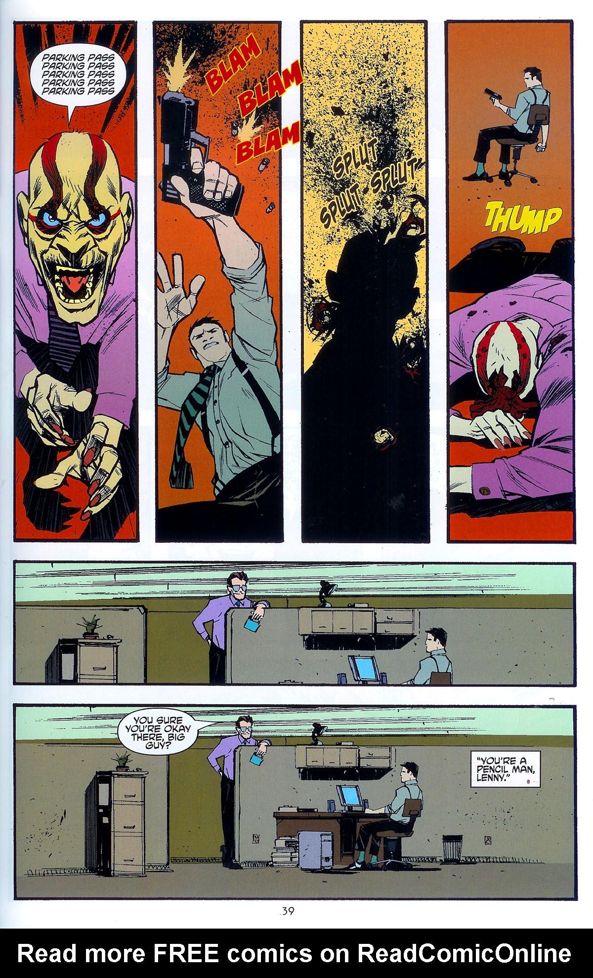 Read online Angel: Masks comic -  Issue # Full - 41