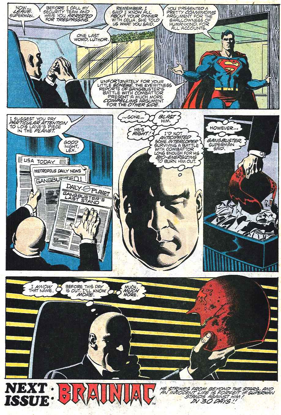 Read online Adventures of Superman (1987) comic -  Issue #437 - 22