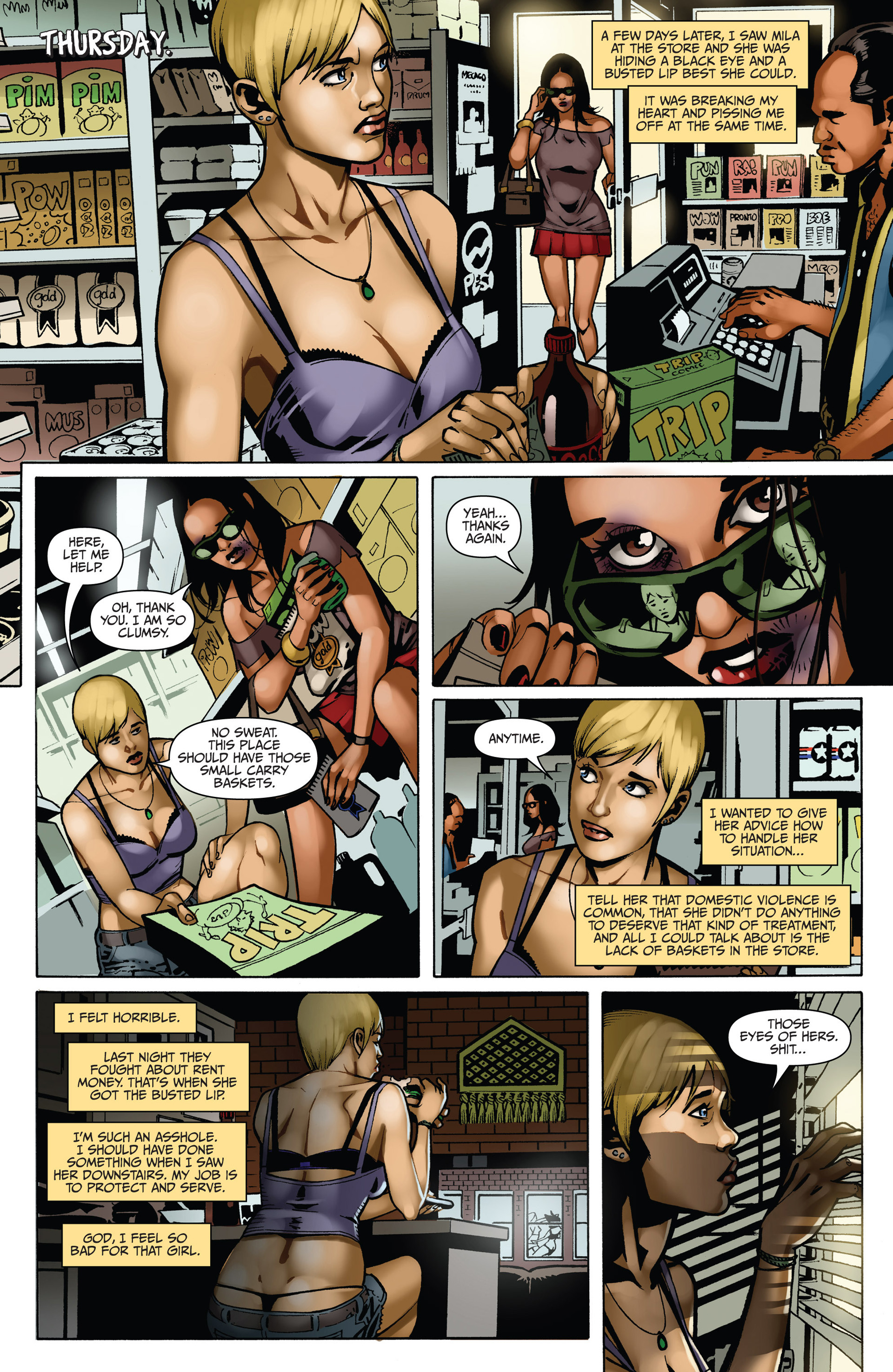 Read online Sex and Violence comic -  Issue # Full - 54