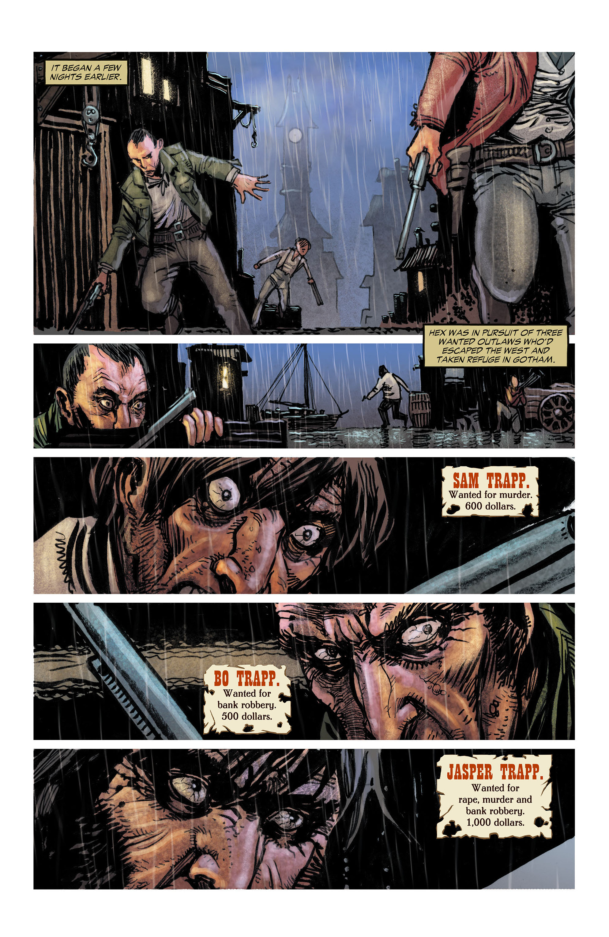 Read online All-Star Western (2011) comic -  Issue #4 - 3