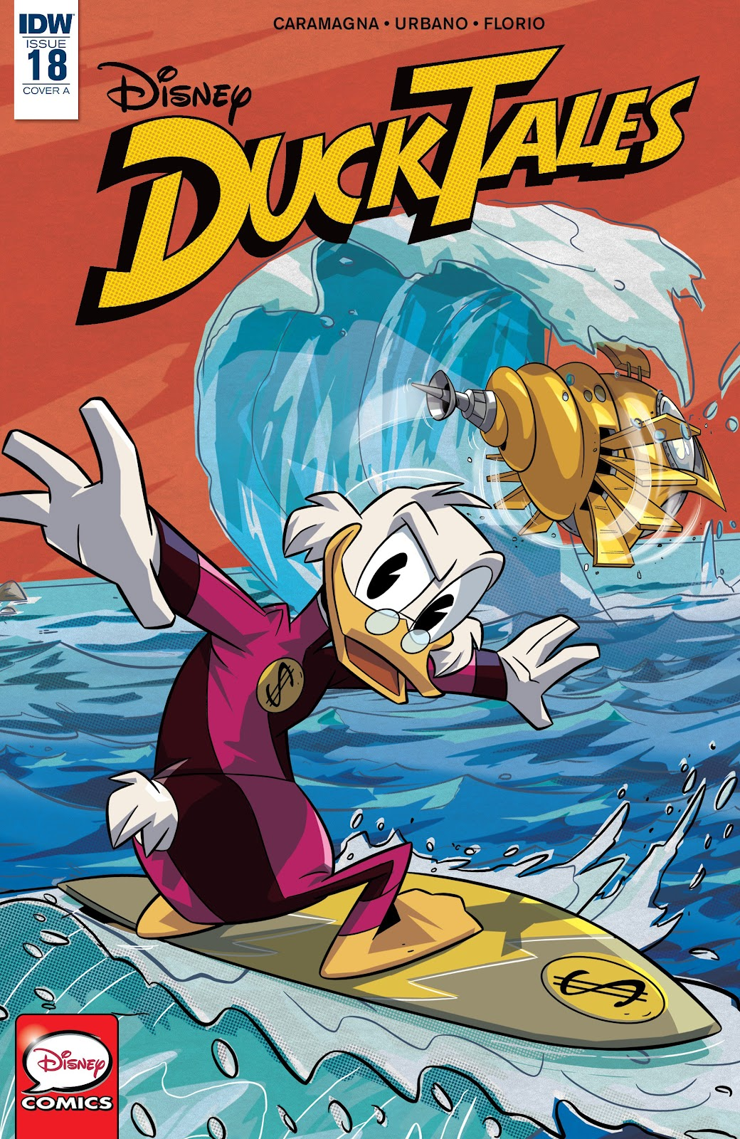 Read online Ducktales (2017) comic -  Issue #18 - 1