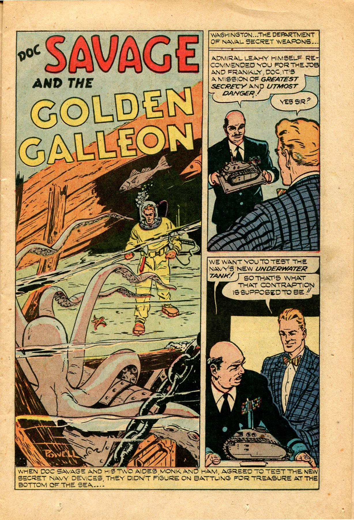Read online Shadow Comics comic -  Issue #82 - 17