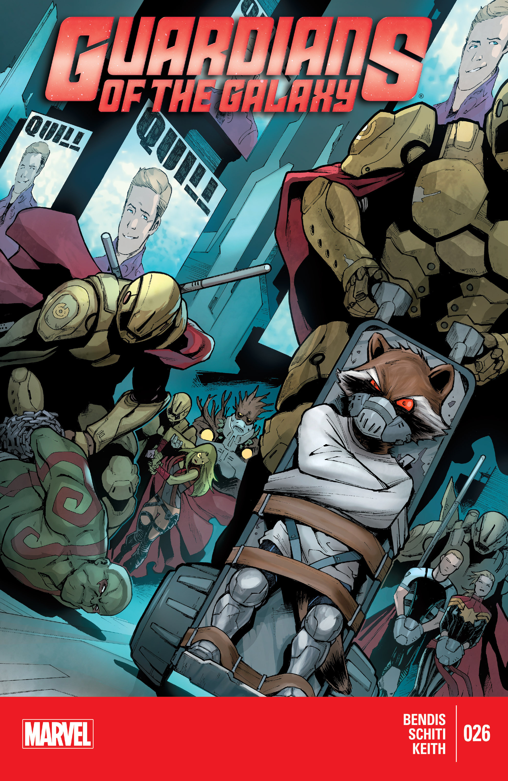 Guardians of the Galaxy (2013) 26 Page 1