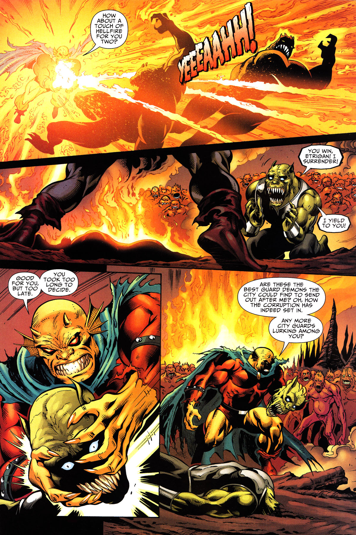 Read online Shadowpact comic -  Issue #10 - 12
