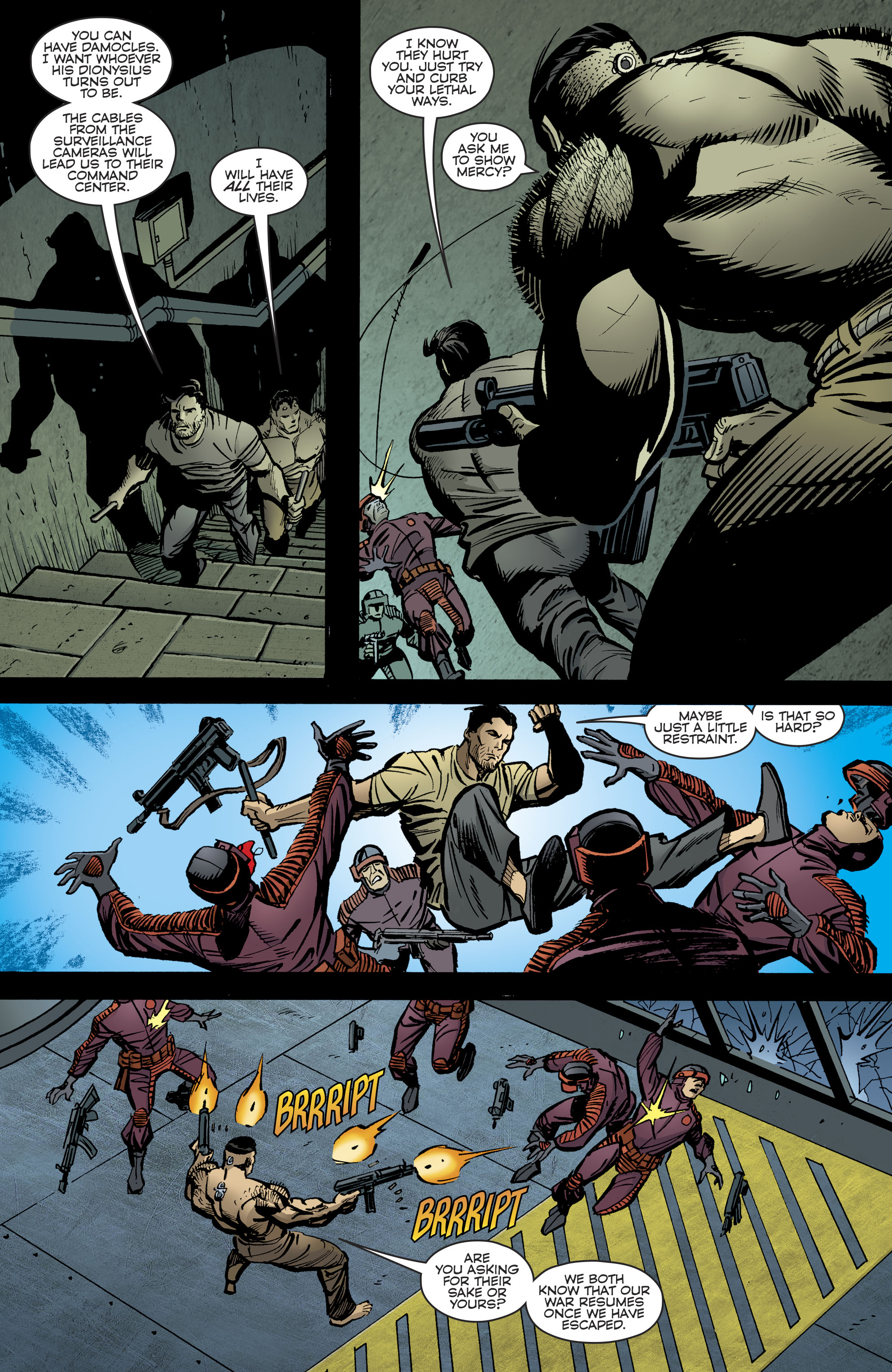 Read online Bane: Conquest comic -  Issue #2 - 21