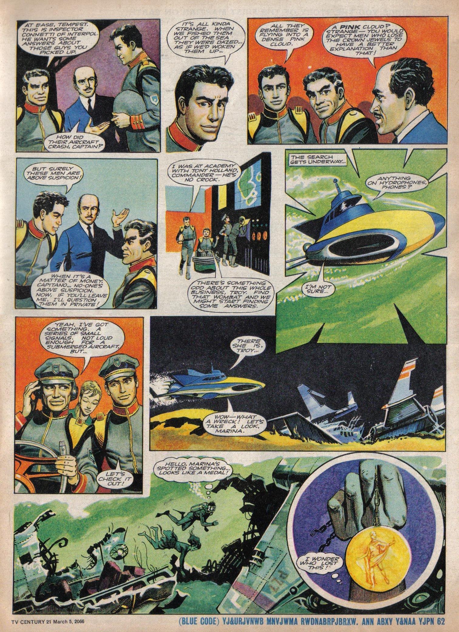 Read online TV Century 21 (TV 21) comic -  Issue #59 - 5