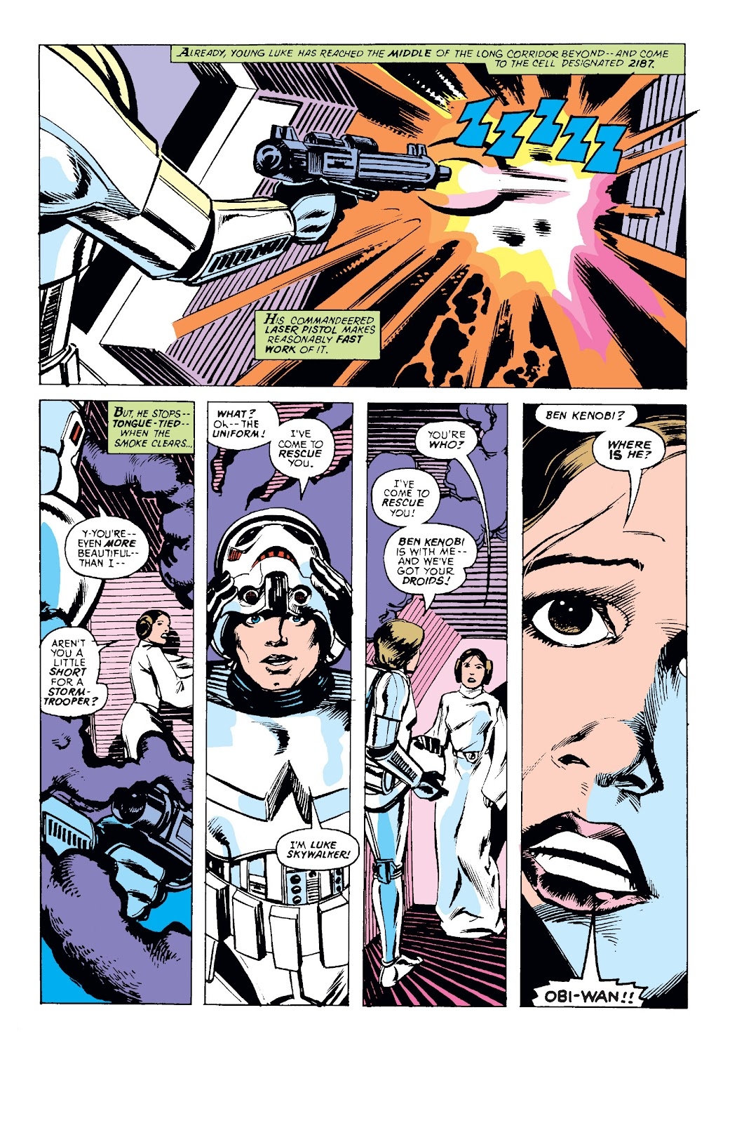 Read online Star Wars Legends: The Original Marvel Years - Epic Collection comic -  Issue # TPB 1 (Part 1) - 60