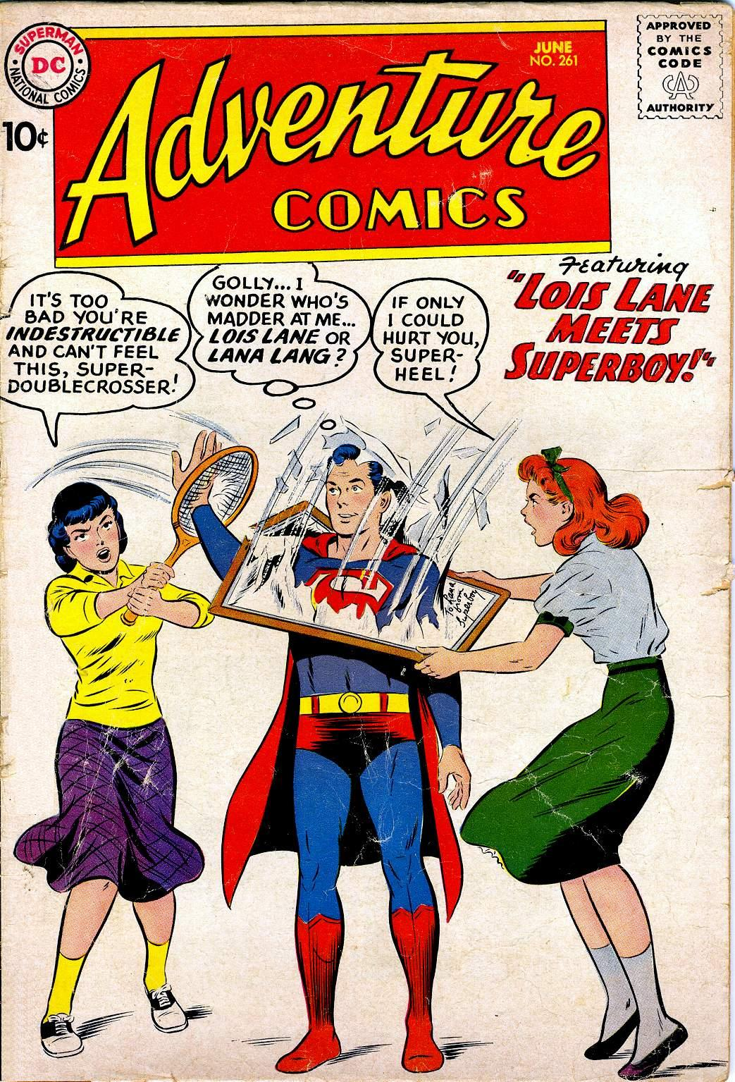 Read online Adventure Comics (1938) comic -  Issue #261 - 1