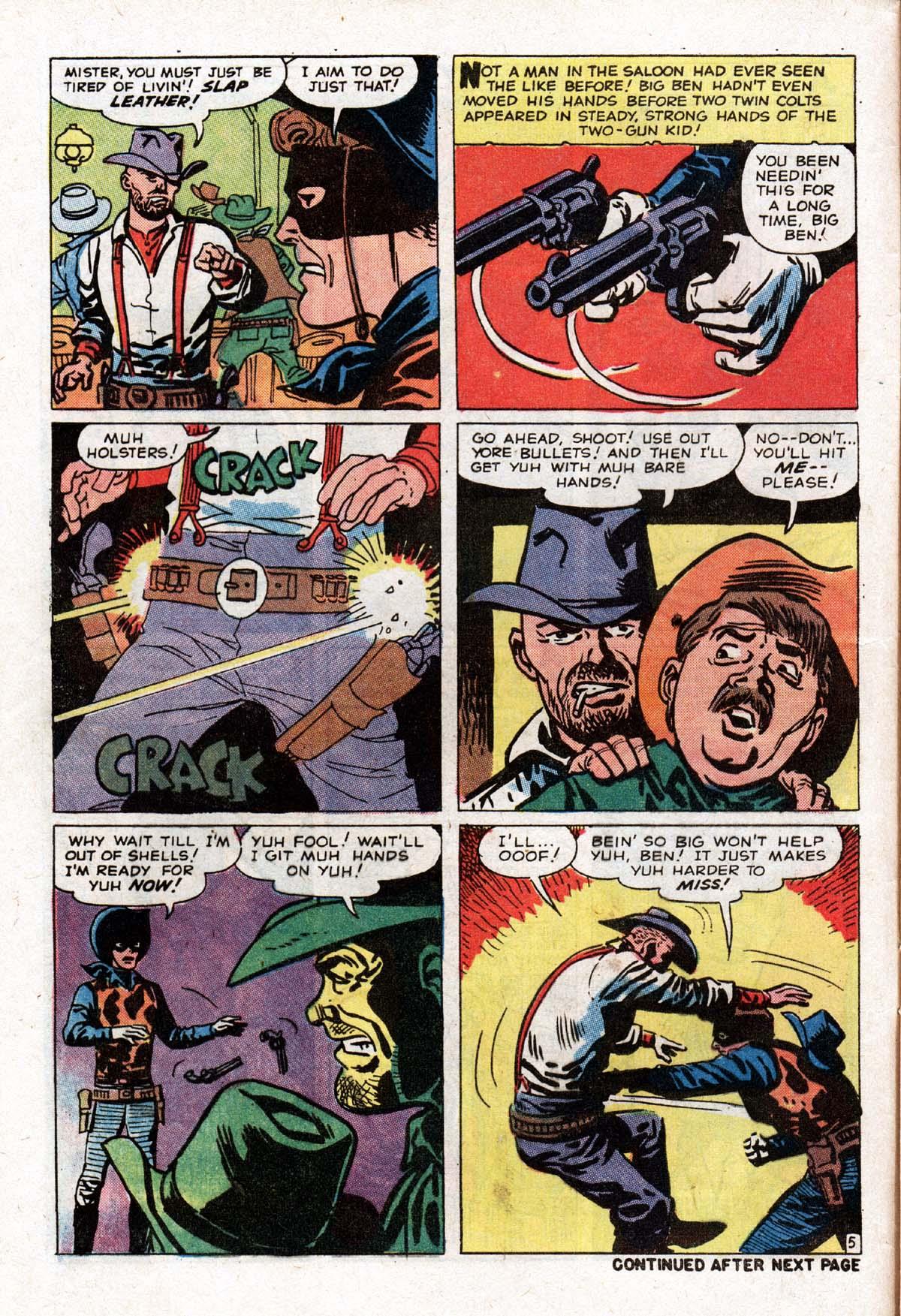 Read online Two-Gun Kid comic -  Issue #104 - 8
