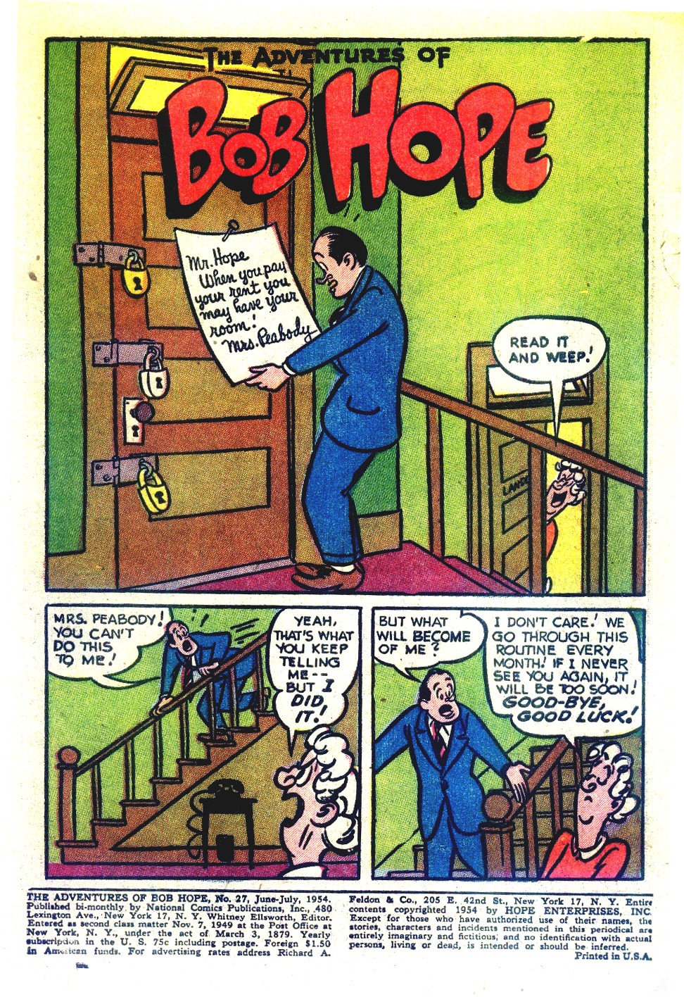 The Adventures of Bob Hope issue 27 - Page 3