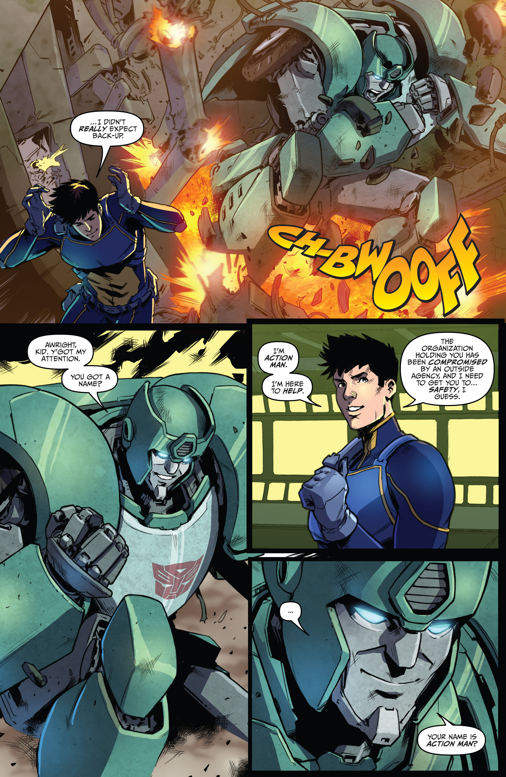 Read online Action Man: Revolution comic -  Issue #Action Man: Revolution Full - 16