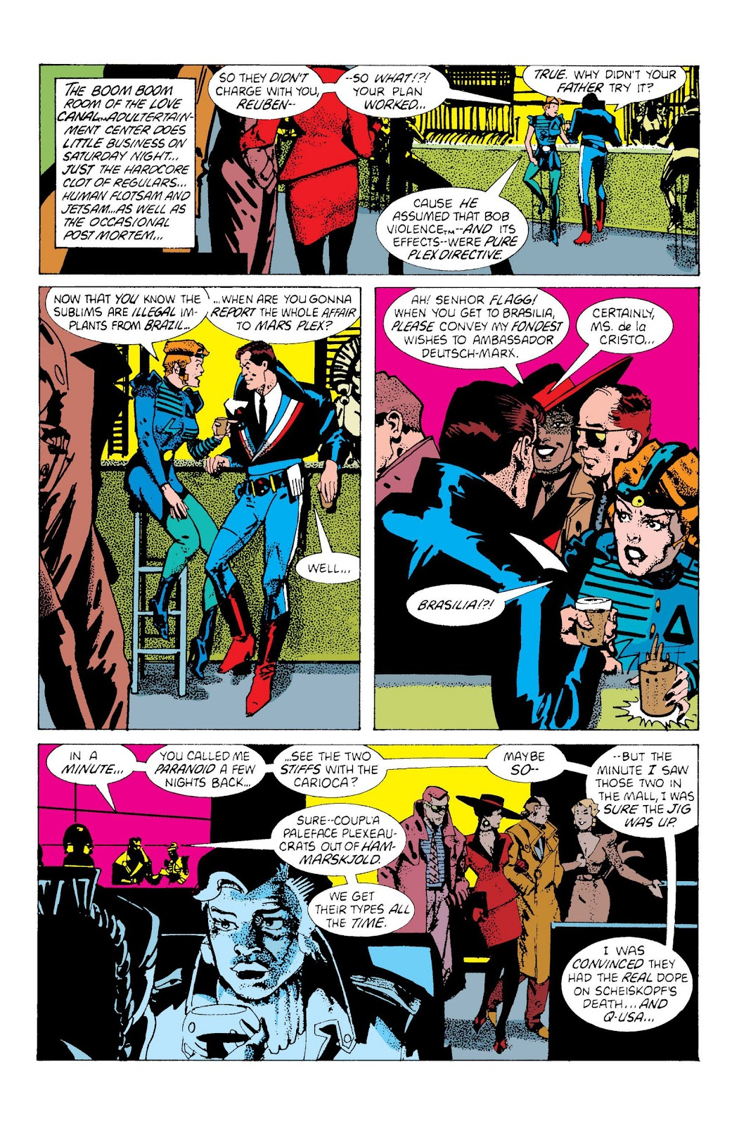 American Flagg! issue Definitive Collection (Part 2) - Page 27