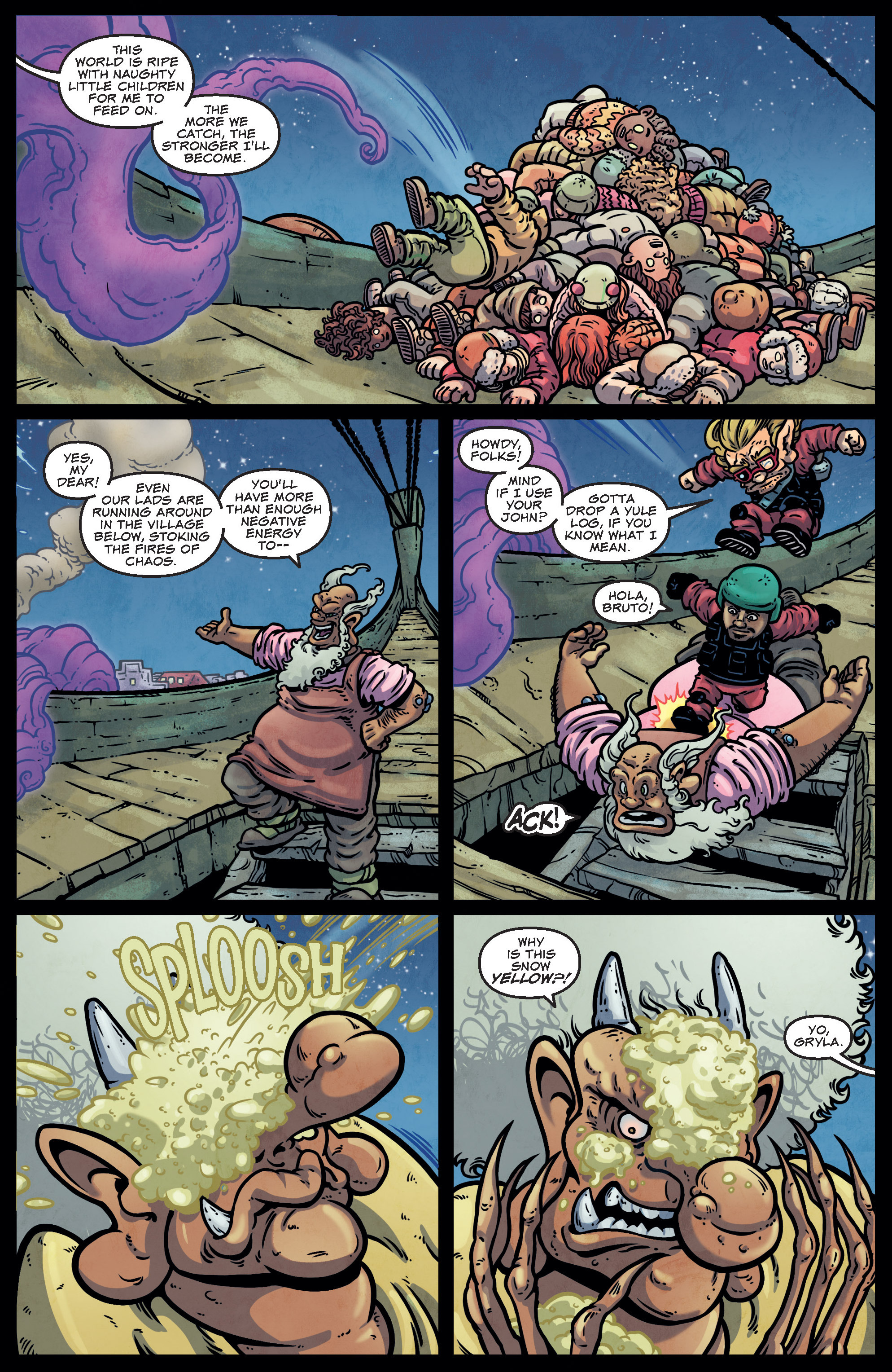 Read online Sleigher comic -  Issue #4 - 5