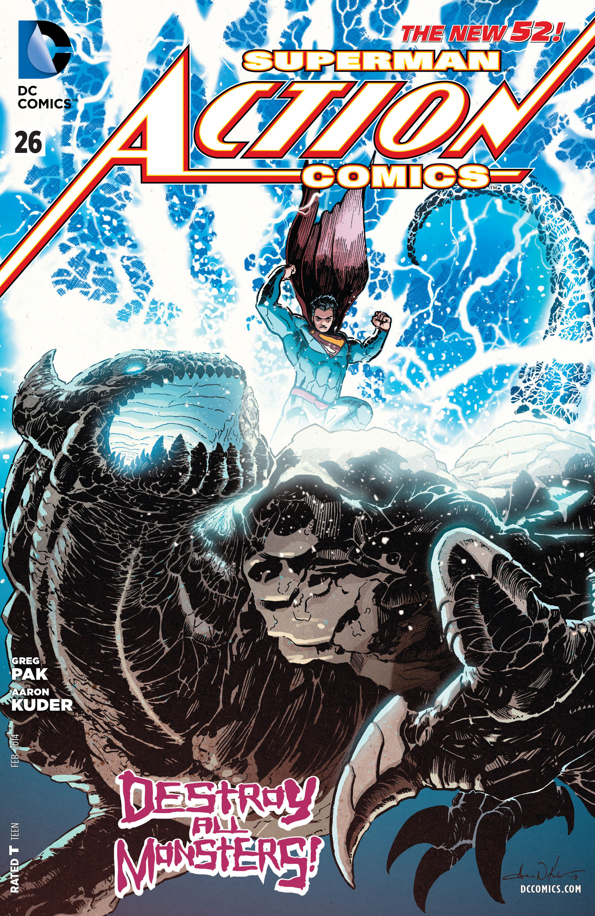 Read online Action Comics (2011) comic -  Issue #26 - 1