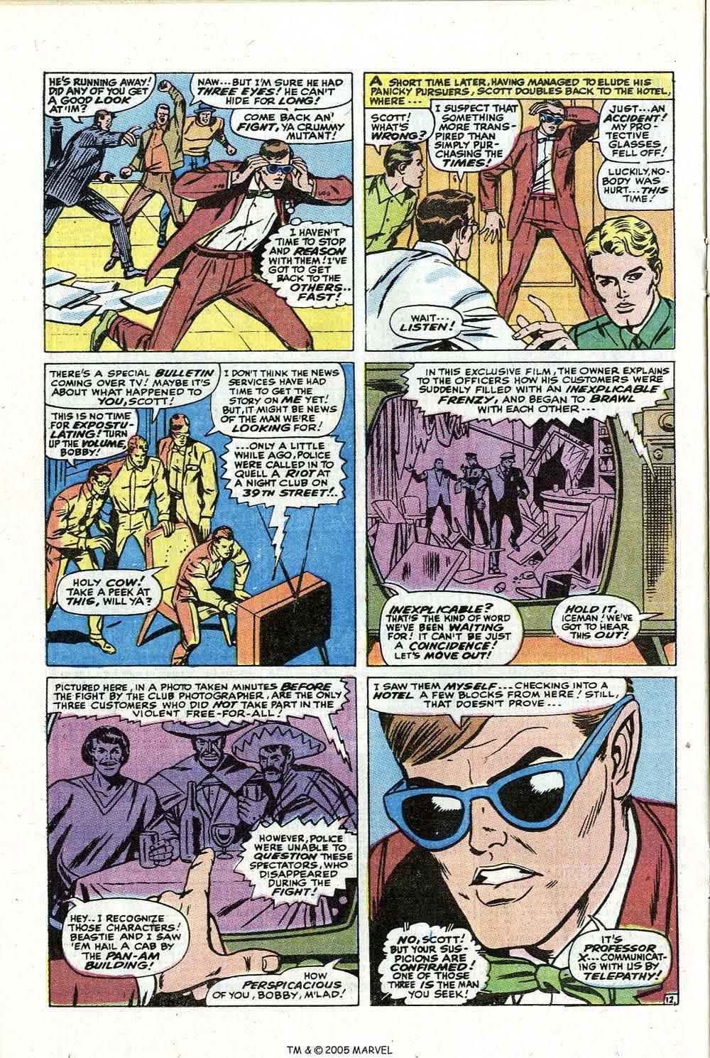 Read online Uncanny X-Men (1963) comic -  Issue #73 - 20