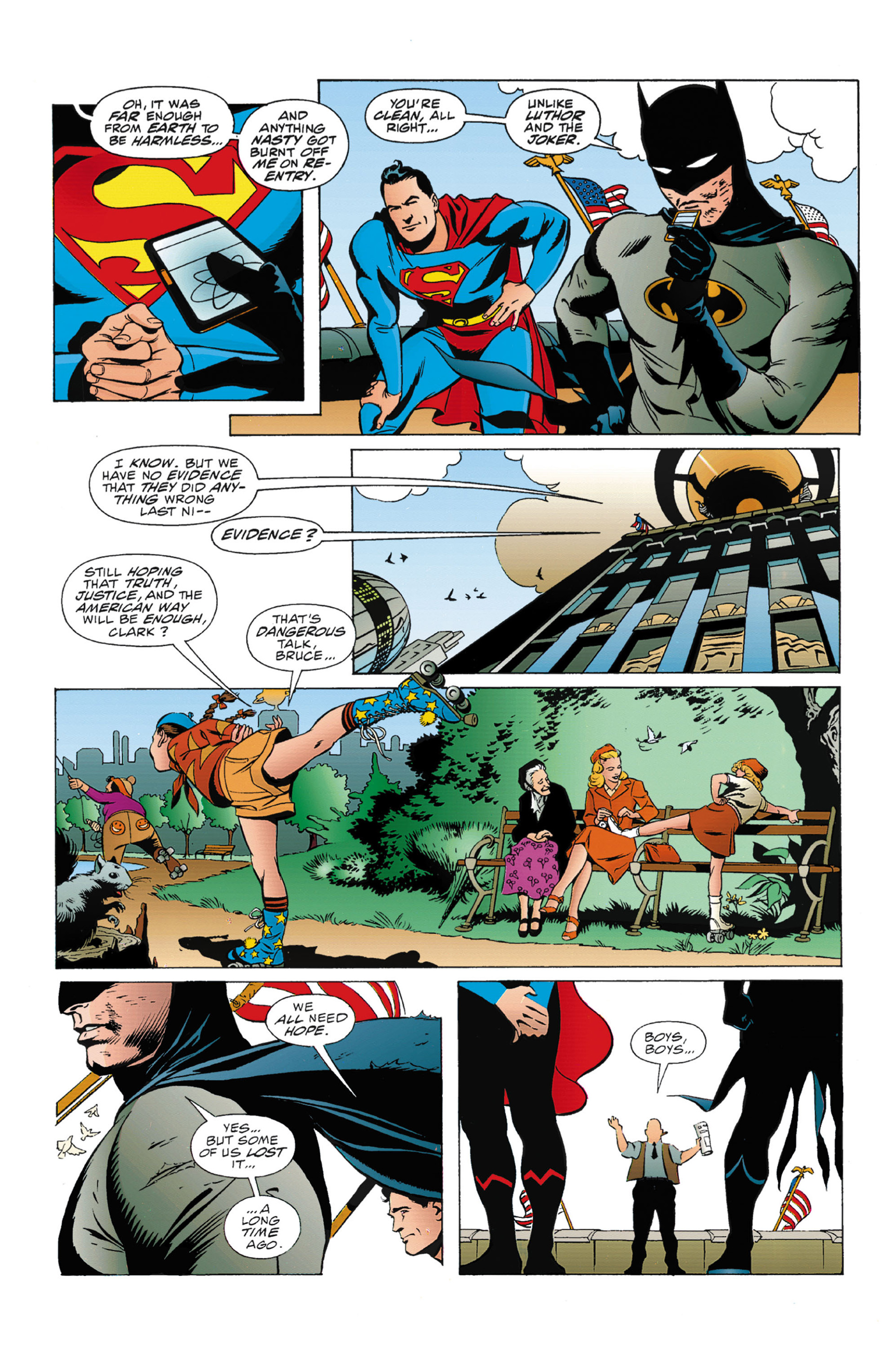 Read online World's Finest (1990) comic -  Issue #3 - 36