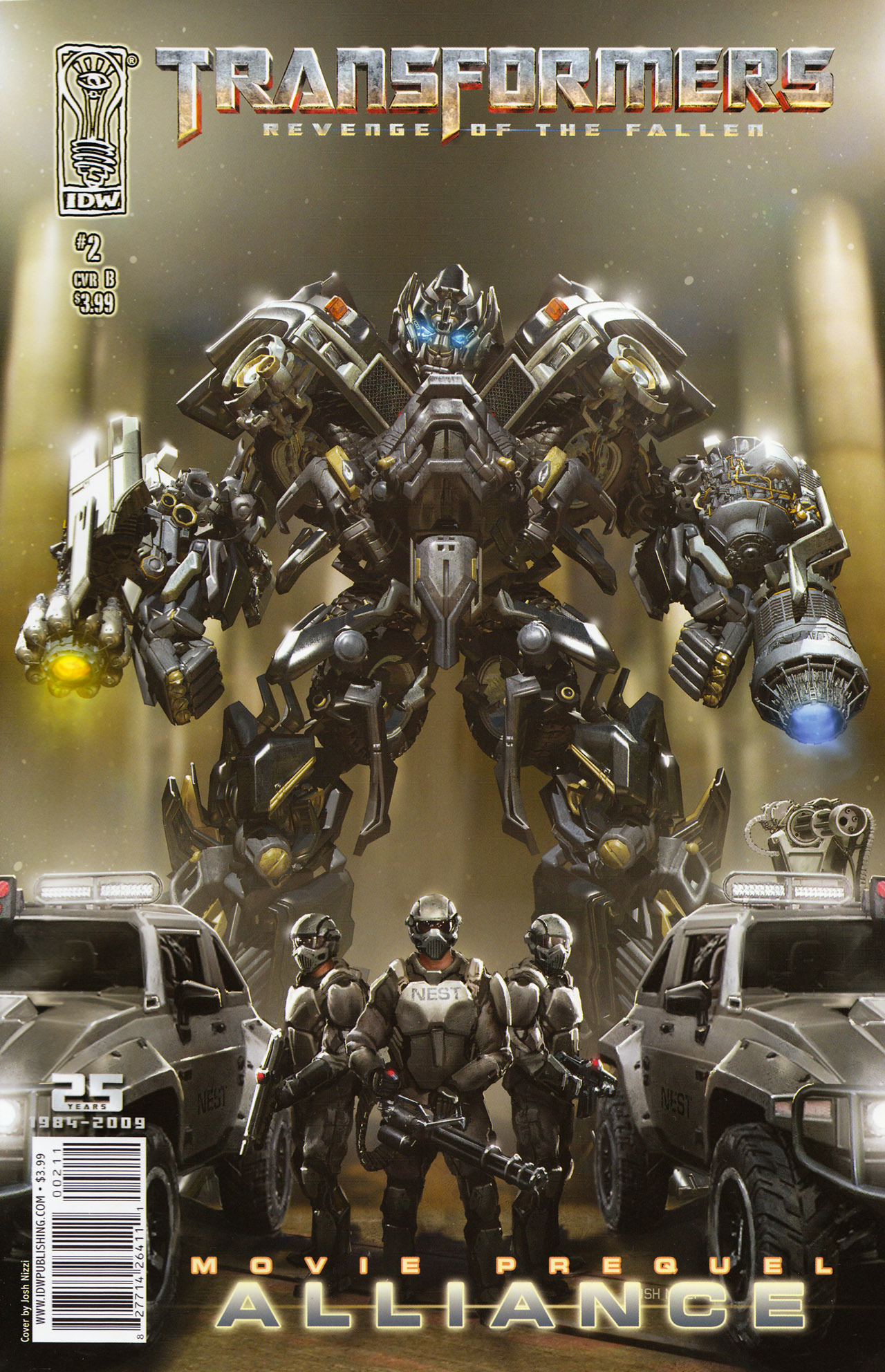 Read online Transformers: Alliance comic -  Issue #2 - 2