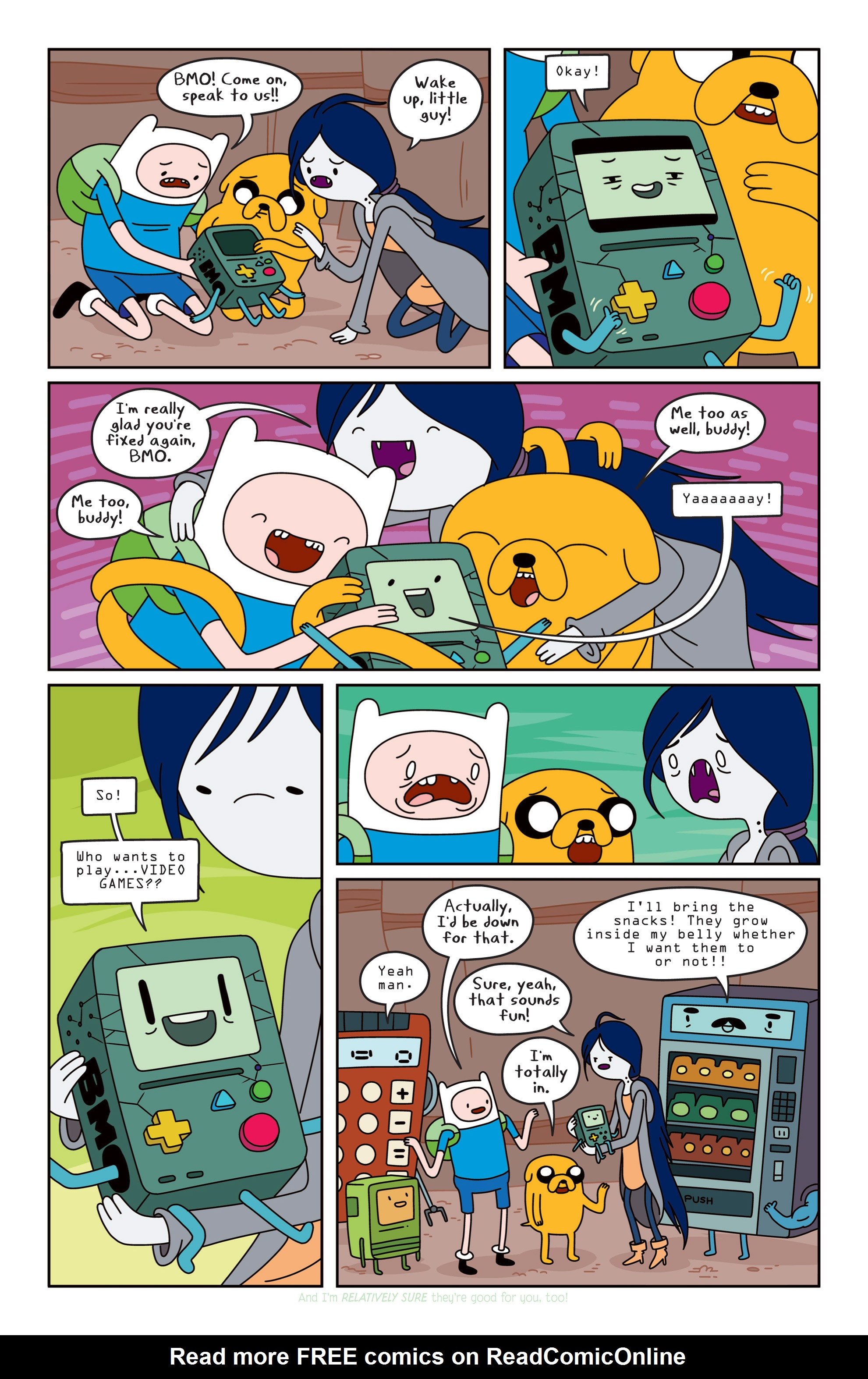 Read online Adventure Time comic -  Issue #14 - 19