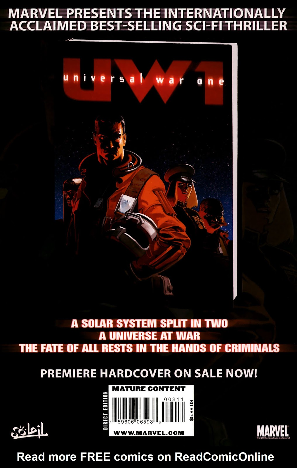 Read online Universal War One: Revelations comic -  Issue #2 - 52