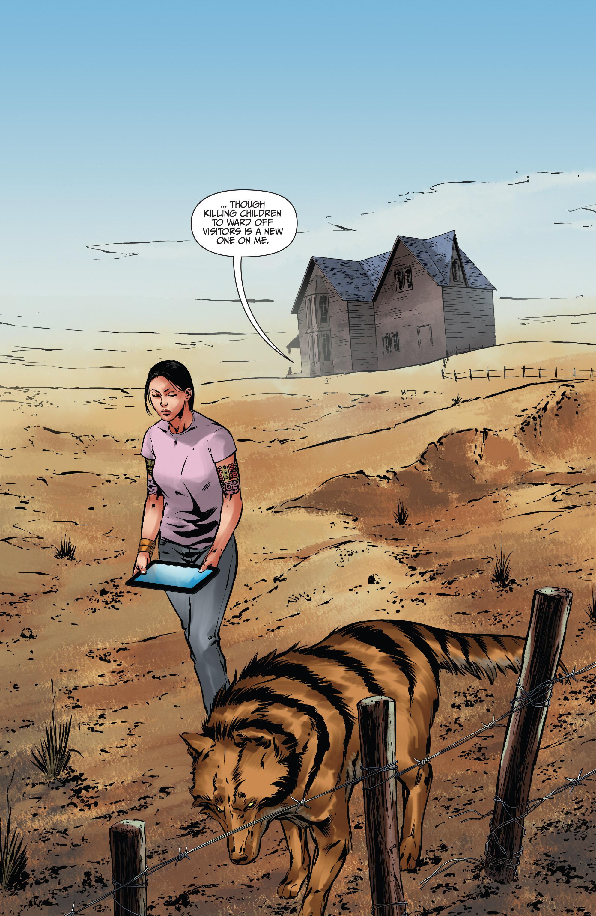 Read online Mercy Thompson comic -  Issue #3 - 4