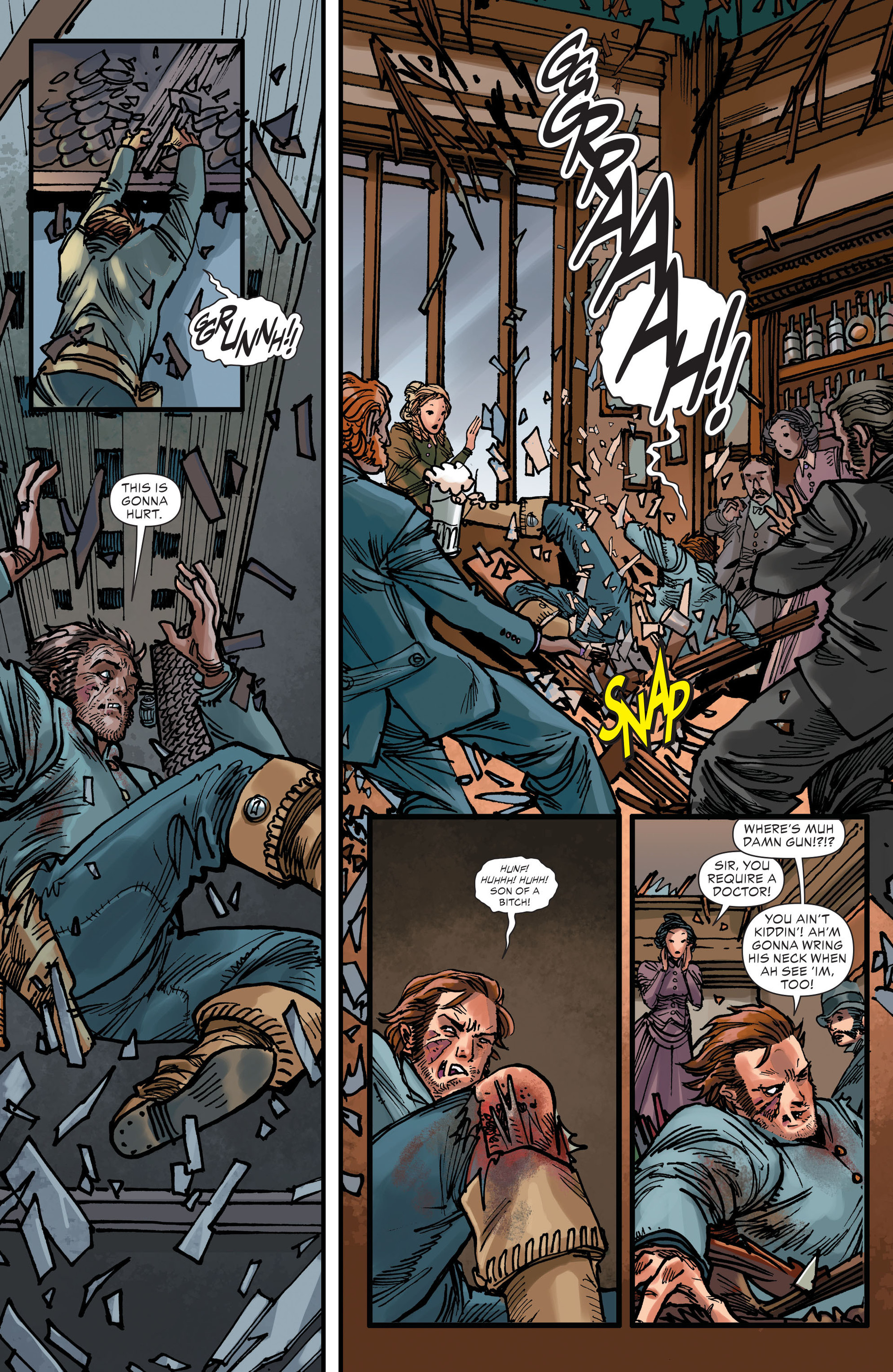 Read online All-Star Western (2011) comic -  Issue #15 - 8