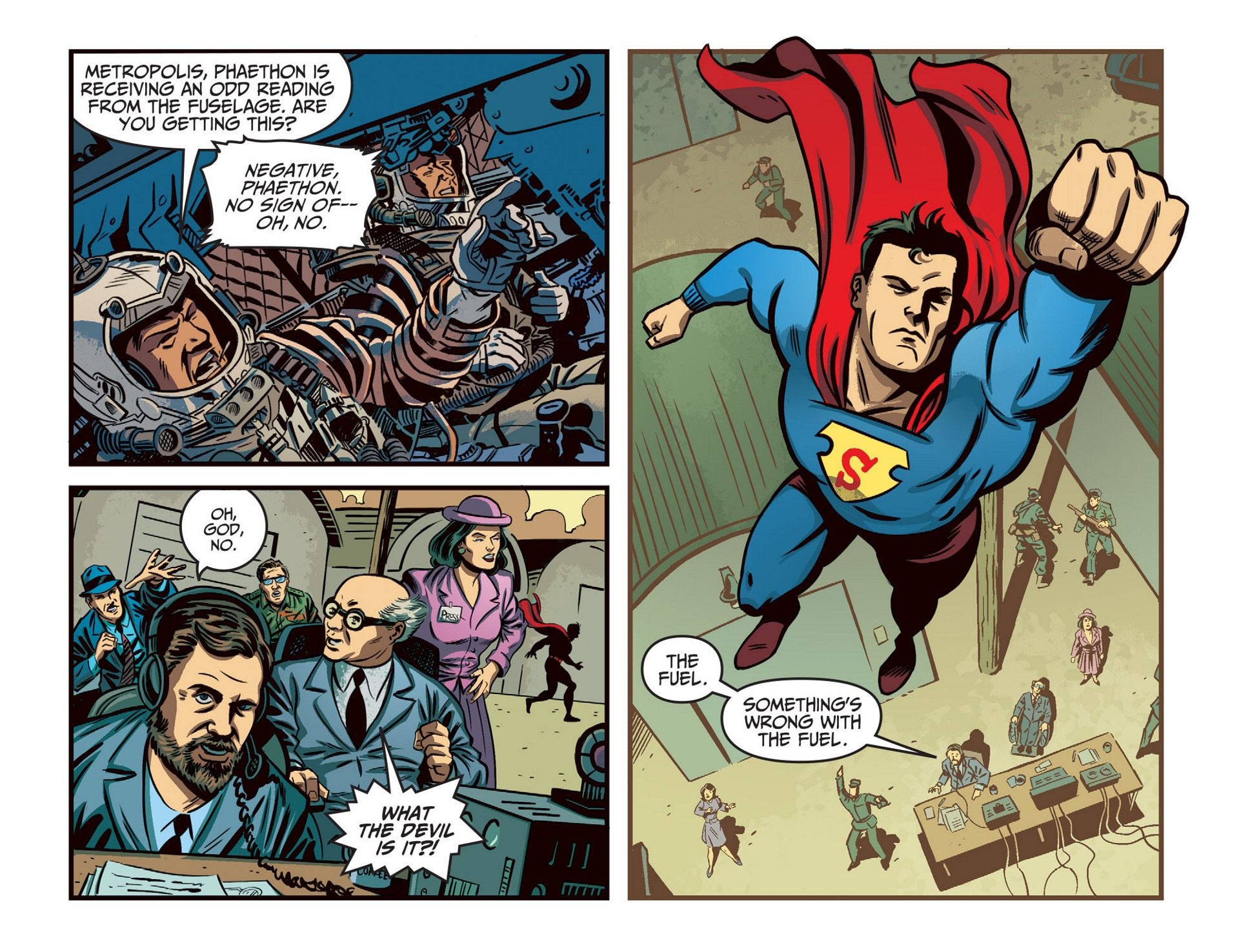 Read online Adventures of Superman [I] comic -  Issue #46 - 14