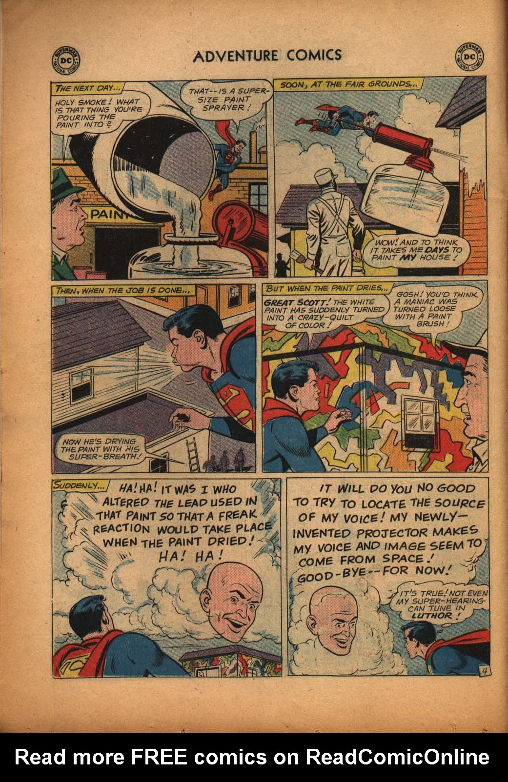 Read online Adventure Comics (1938) comic -  Issue #292 - 6