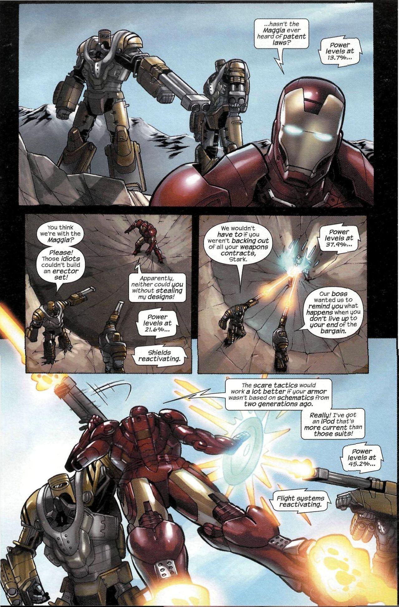 Read online Sega Iron Man Special comic -  Issue # Full - 14