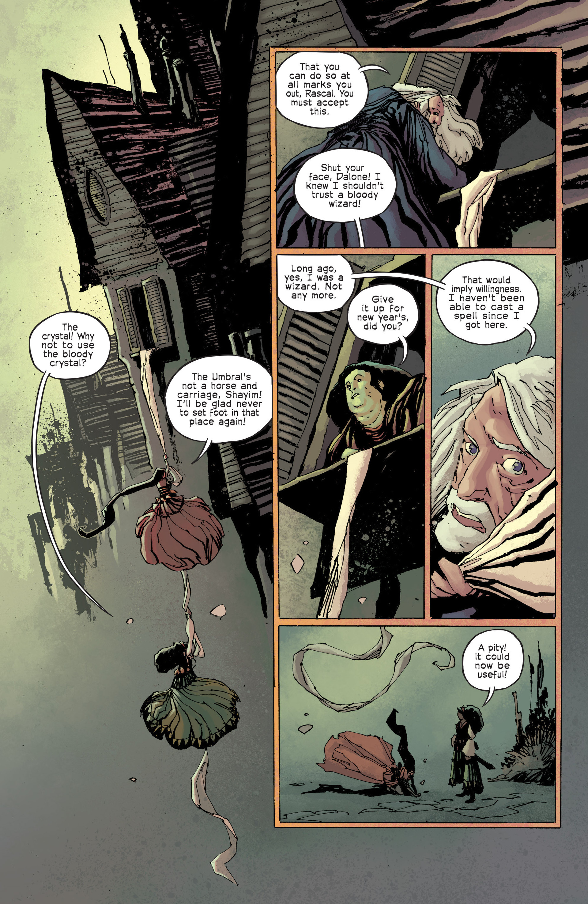 Read online Umbral comic -  Issue #6 - 6