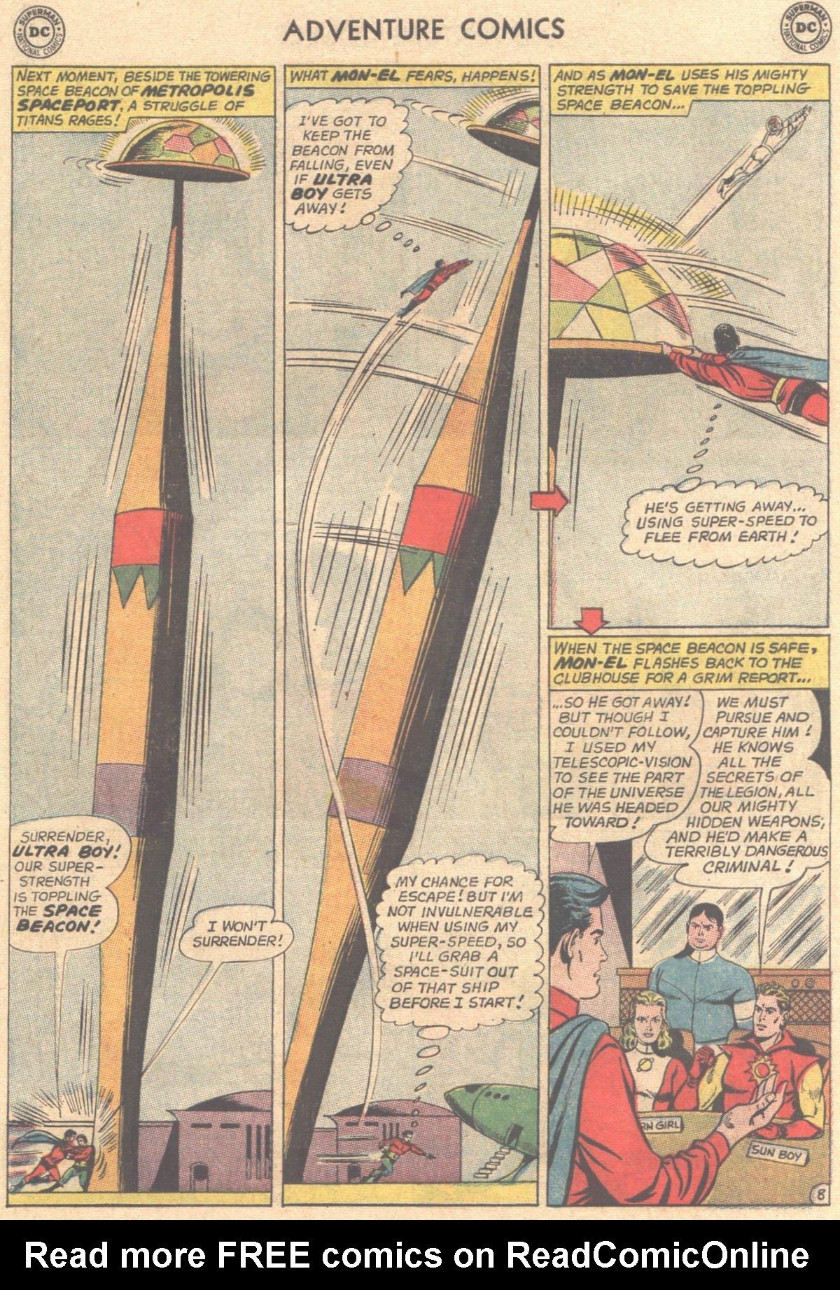 Read online Adventure Comics (1938) comic -  Issue #316 - 10