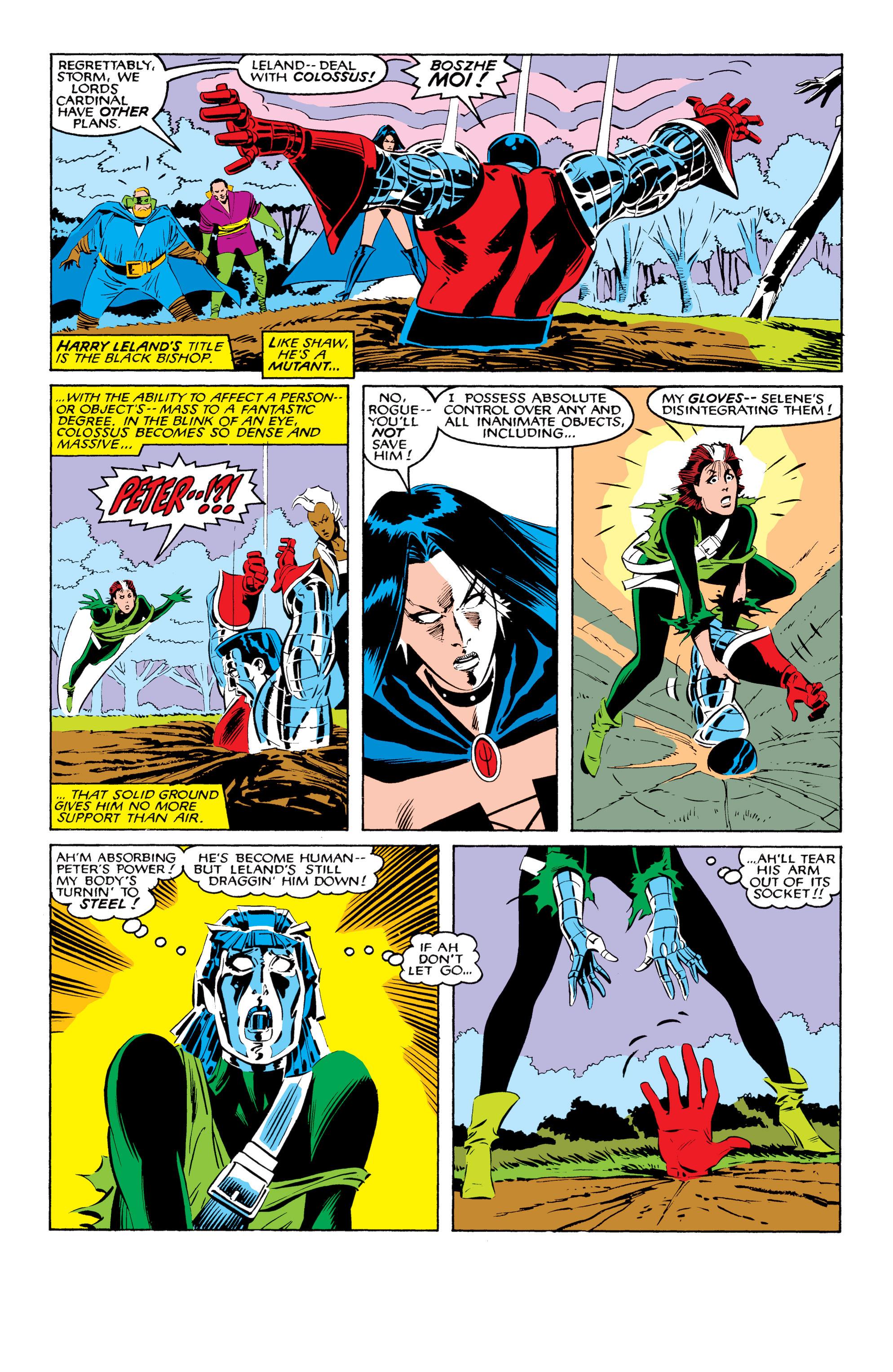 Read online Uncanny X-Men (1963) comic -  Issue #208 - 20