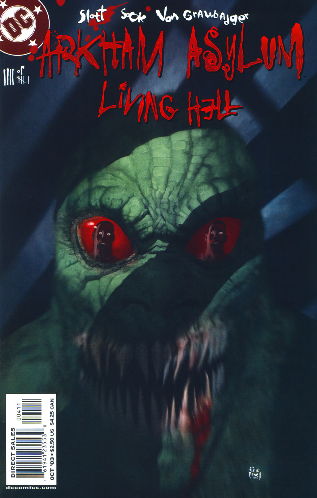 Read online Arkham Asylum: Living Hell comic -  Issue #4 - 2