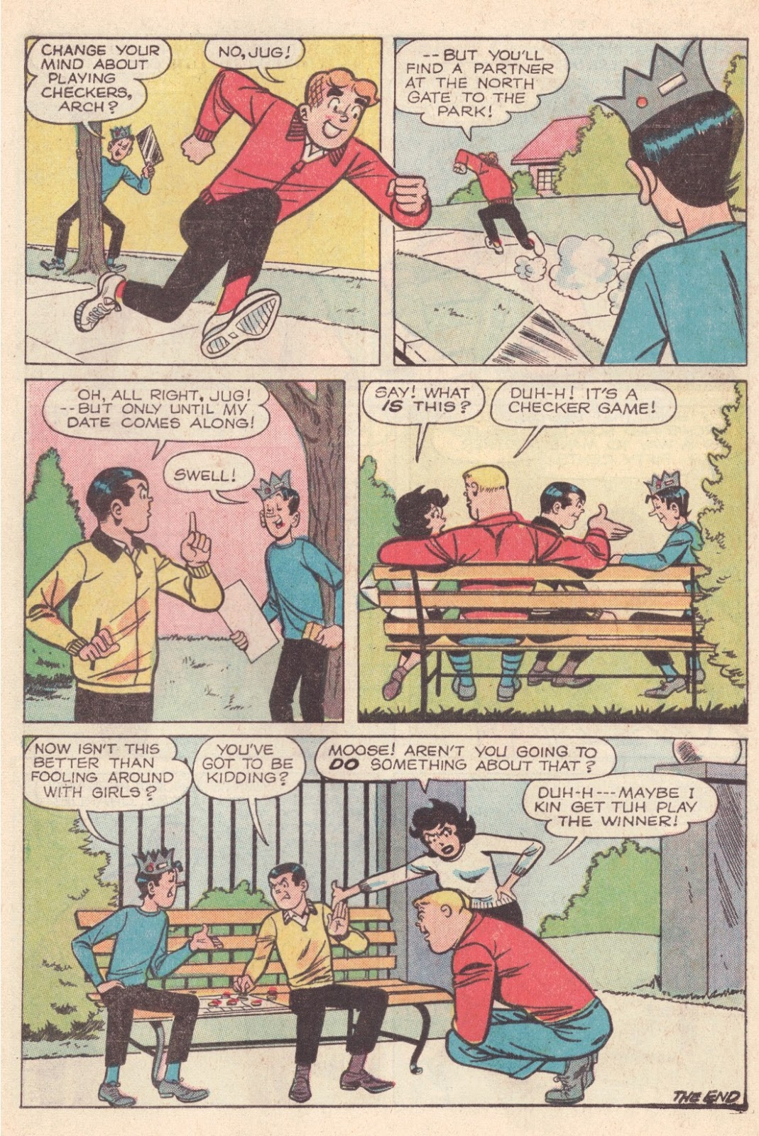 Read online Archie (1960) comic -  Issue #163 - 24