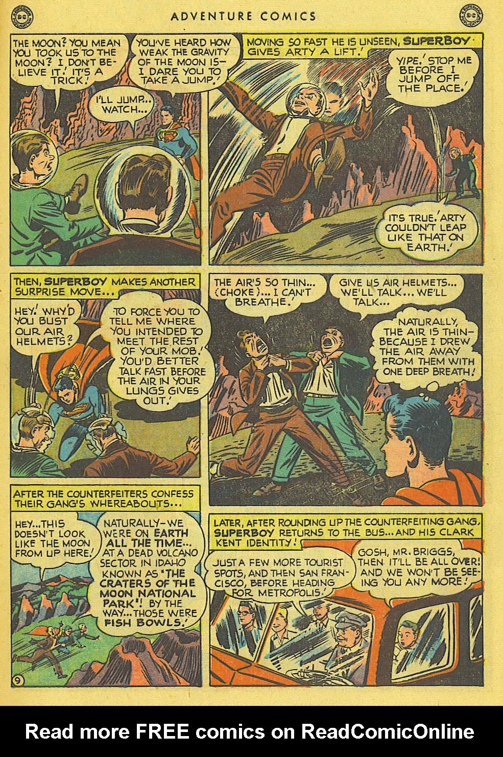 Read online Adventure Comics (1938) comic -  Issue #138 - 11