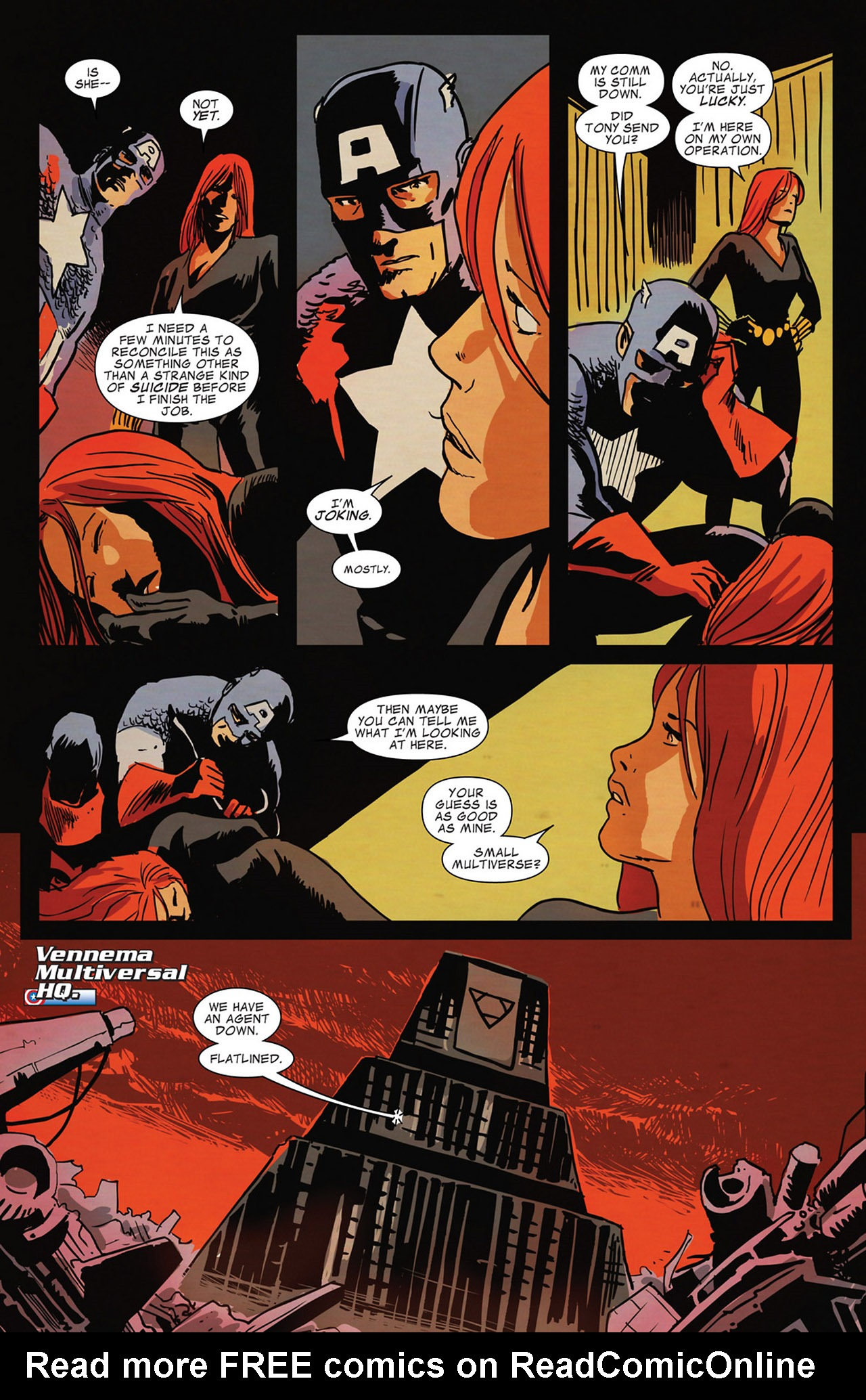 Read online Captain America And Black Widow comic -  Issue #637 - 9