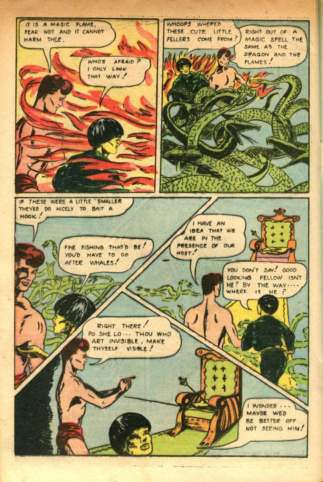 Read online Super-Magician Comics comic -  Issue #51 - 32