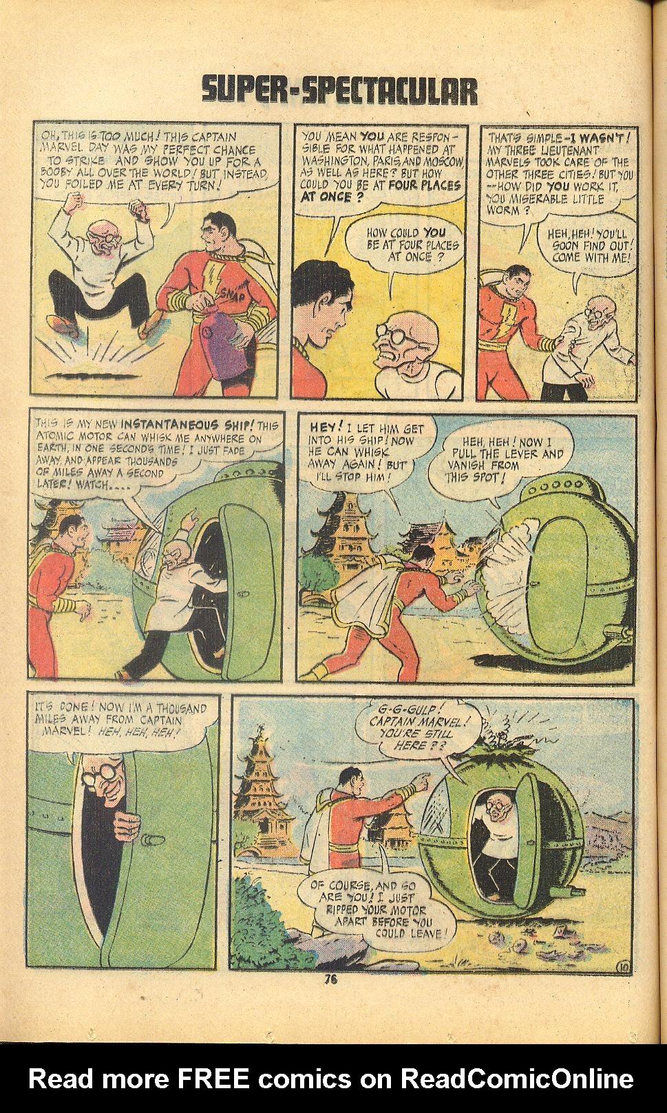 Read online Shazam! (1973) comic -  Issue #8 - 76