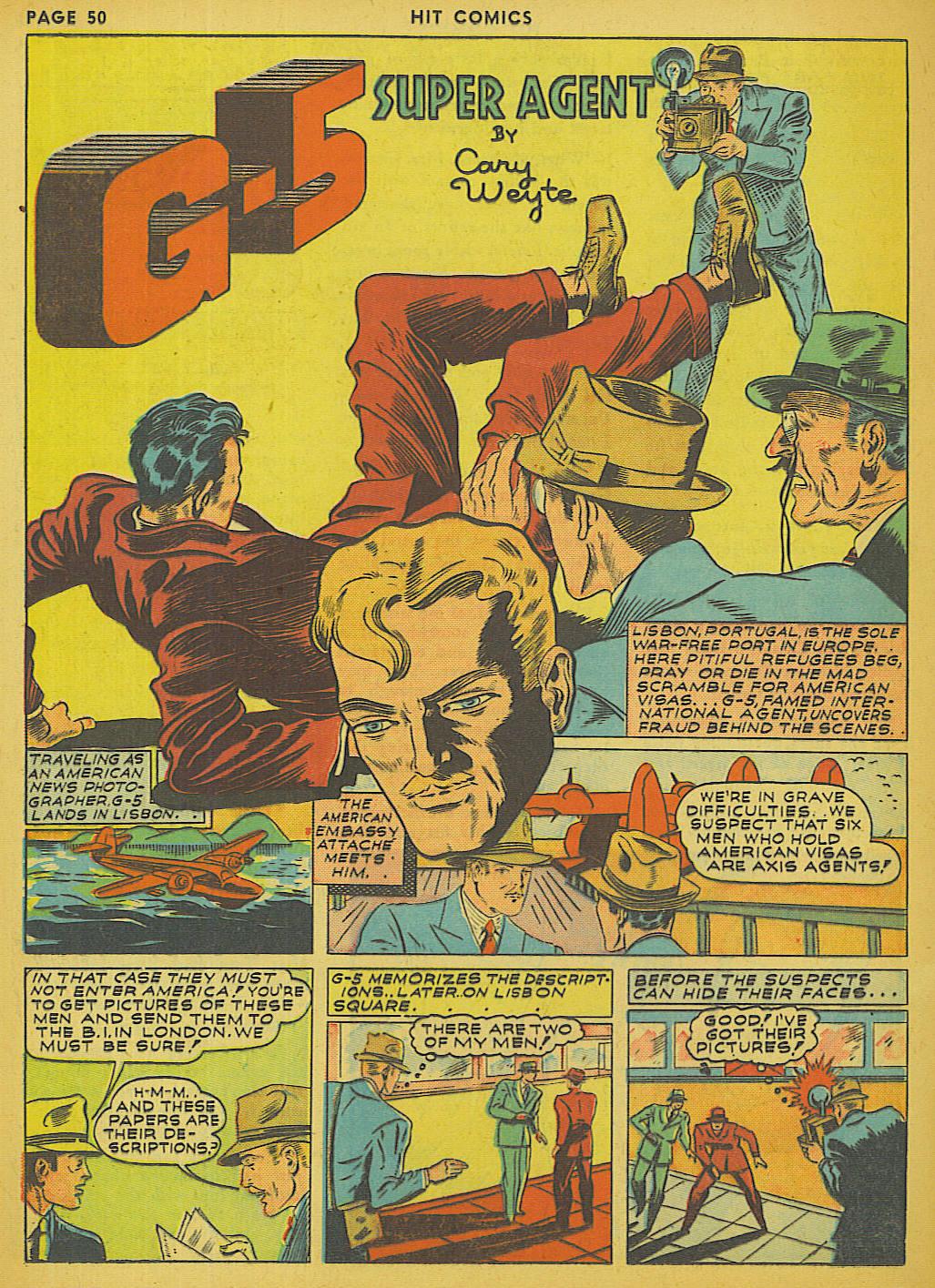 Read online Hit Comics comic -  Issue #13 - 52