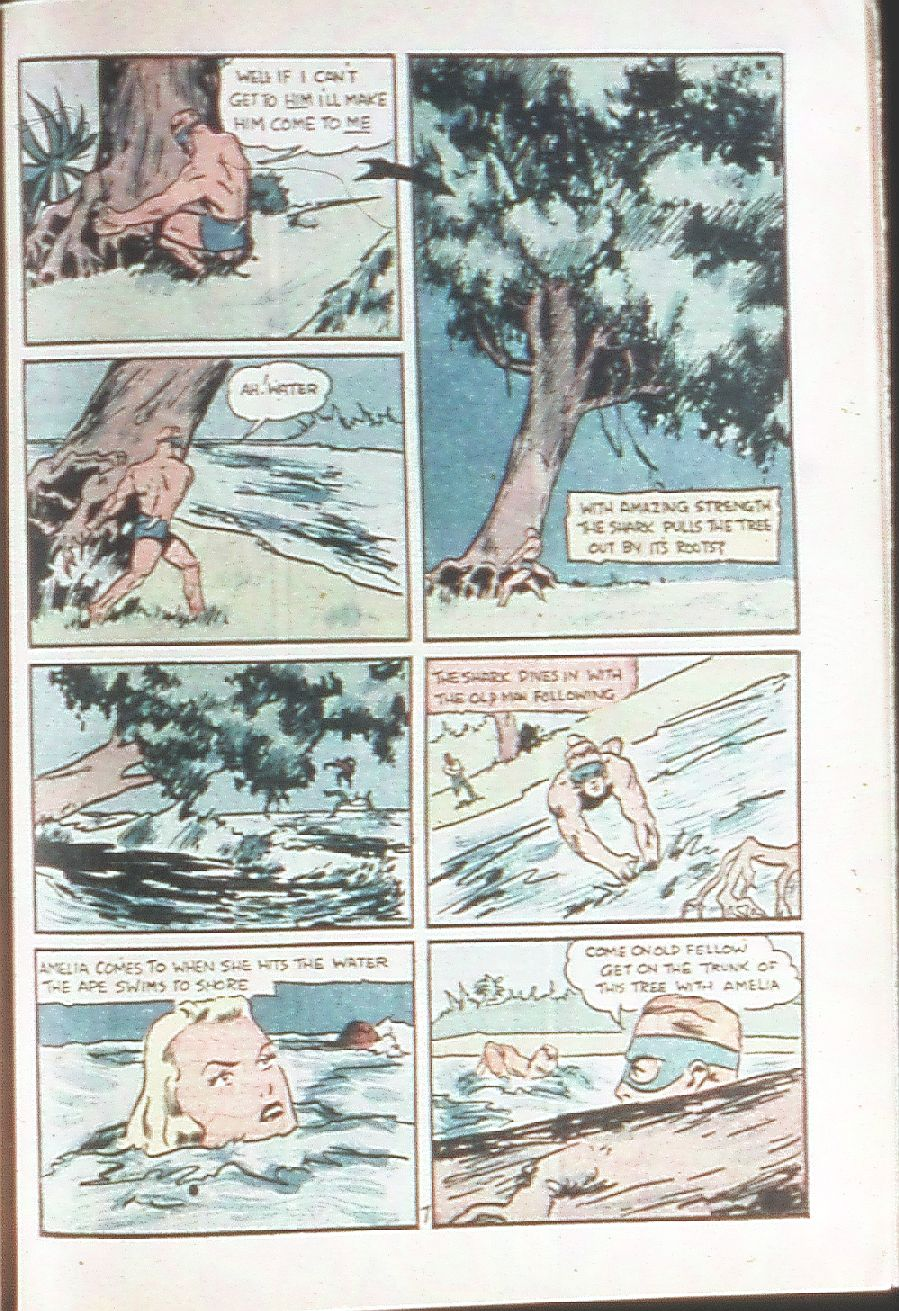 Read online Amazing Man Comics comic -  Issue #18 - 47