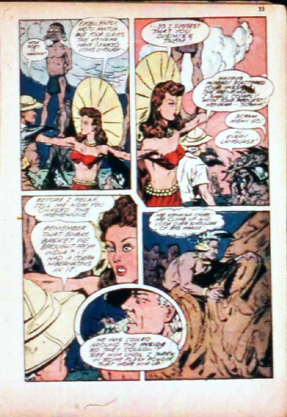 Read online Super-Magician Comics comic -  Issue #17 - 23