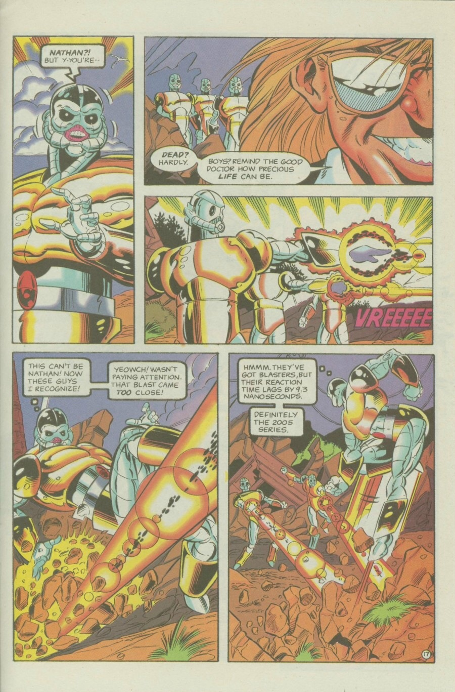 Read online Ex-Mutants comic -  Issue #6 - 23