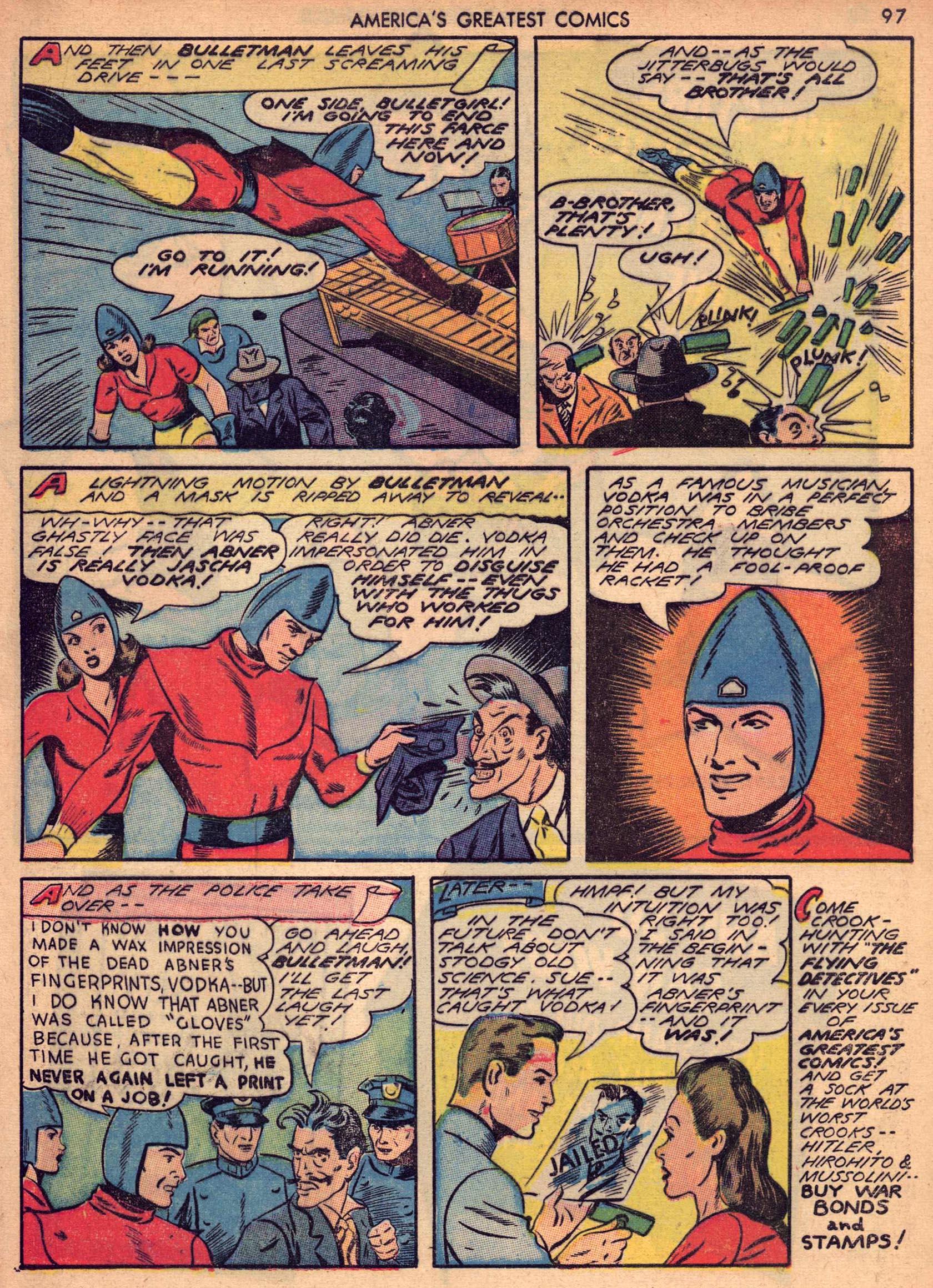 Read online America's Greatest Comics comic -  Issue #7 - 96